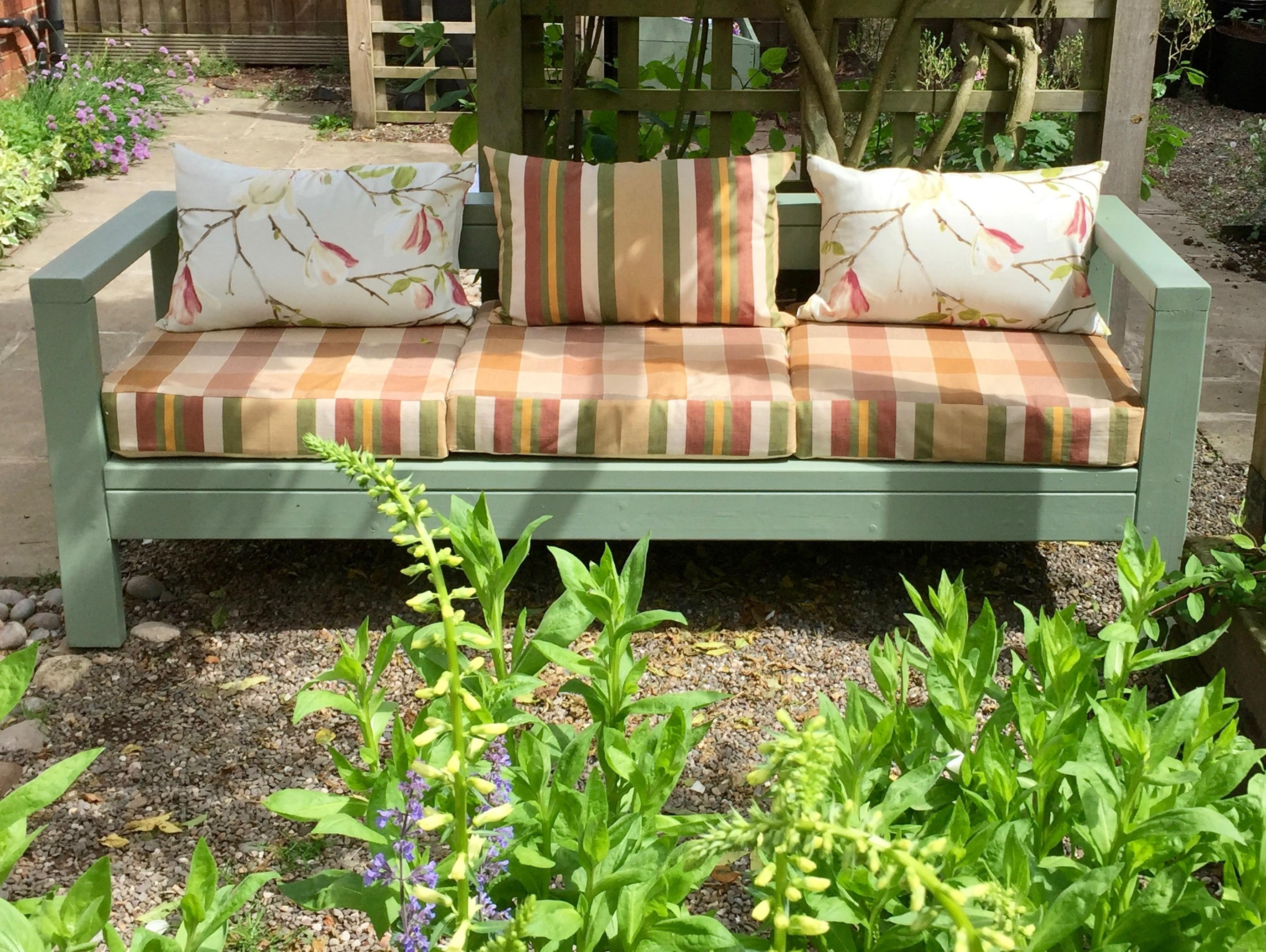 Ana White | Outdoor Sofa – Diy Projects Within Ana White Outdoor Sofas (Image 8 of 20)