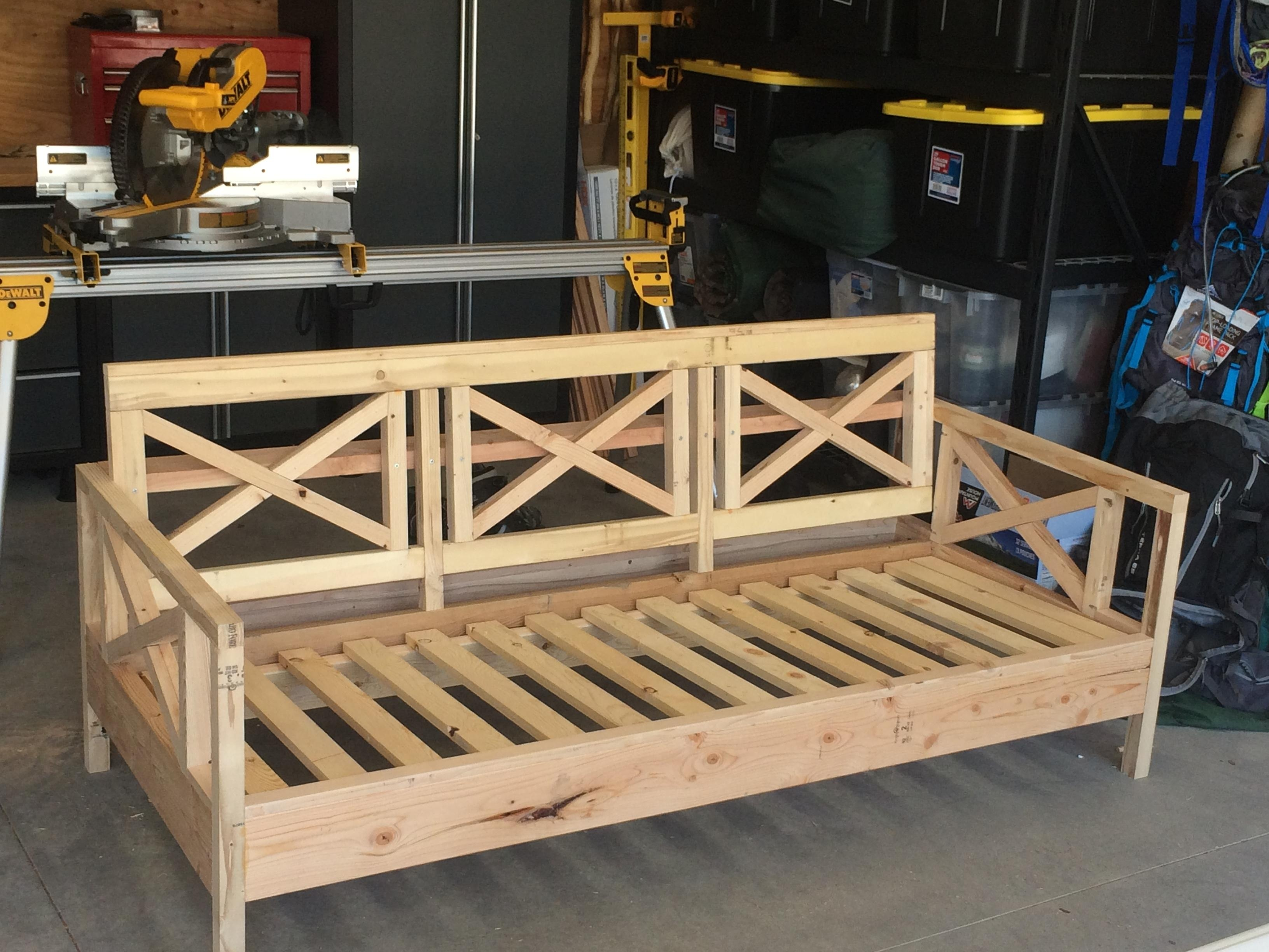 Ana White | Outdoor Sofa Mash Up – Diy Projects Within Ana White Outdoor Sofas (View 9 of 20)