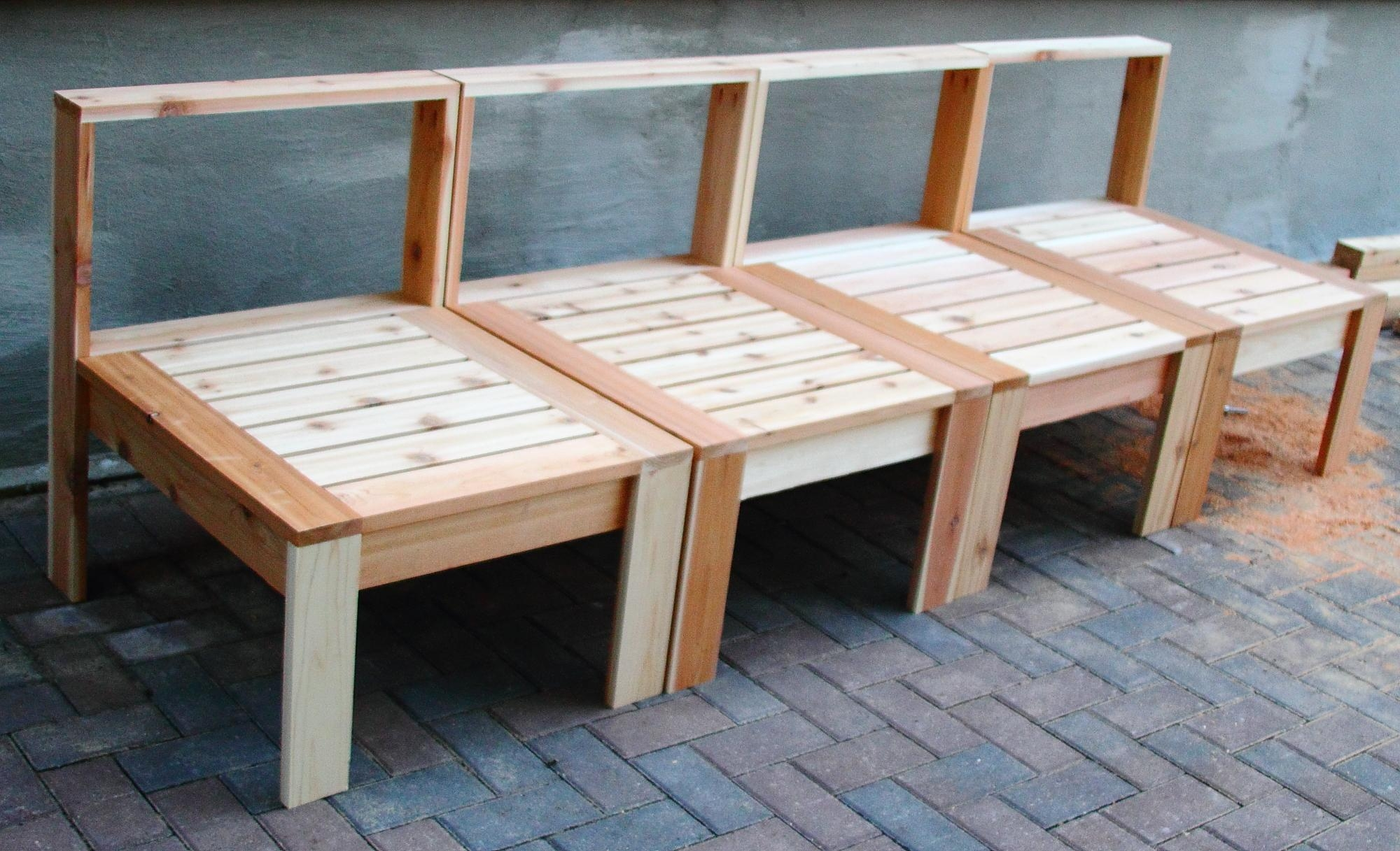 Ana White | Patio Furniture In Progress – Diy Projects With Ana White Outdoor Sofas (View 19 of 20)