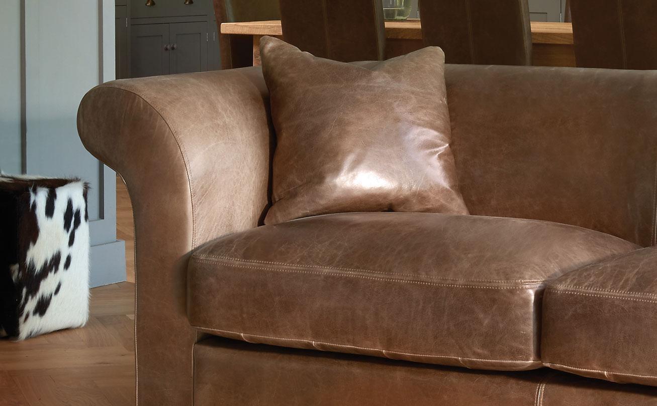 Aniline Leather Sofasindigo Furniture For Aniline Leather Sofas (View 10 of 20)