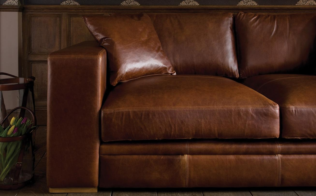 Aniline Leather Sofasindigo Furniture In Aniline Leather Sofas (Image 6 of 20)