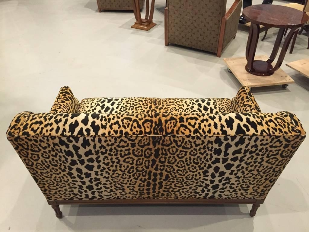 Animal Print Sofa Collections Etc Leopard Animal Print Furniture Inside Animal  Print Sofas (Image 3