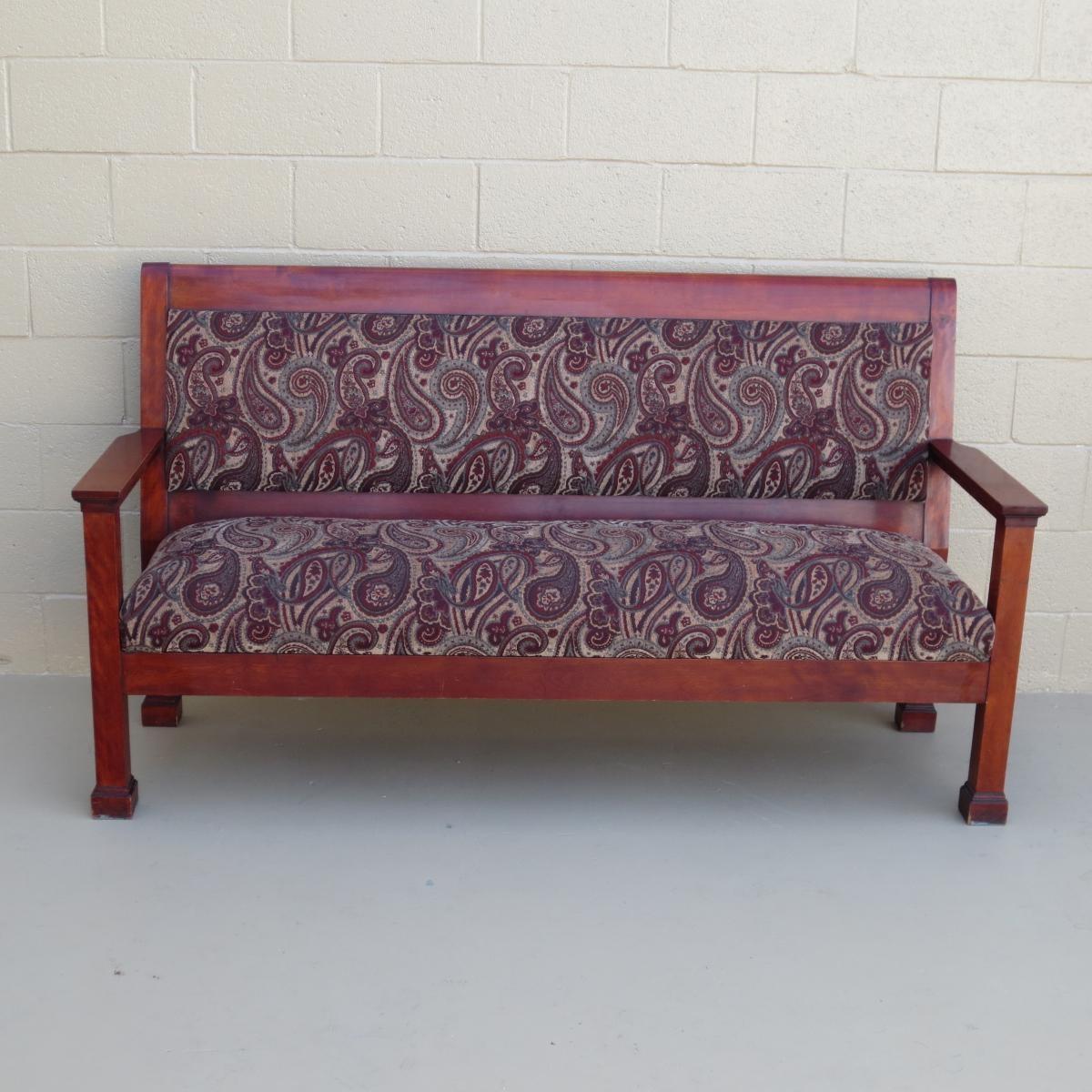 Antique Furniture, Antique Sofas, Antique Couches, Antique Living Pertaining To Antique Sofa Chairs (Image 1 of 20)