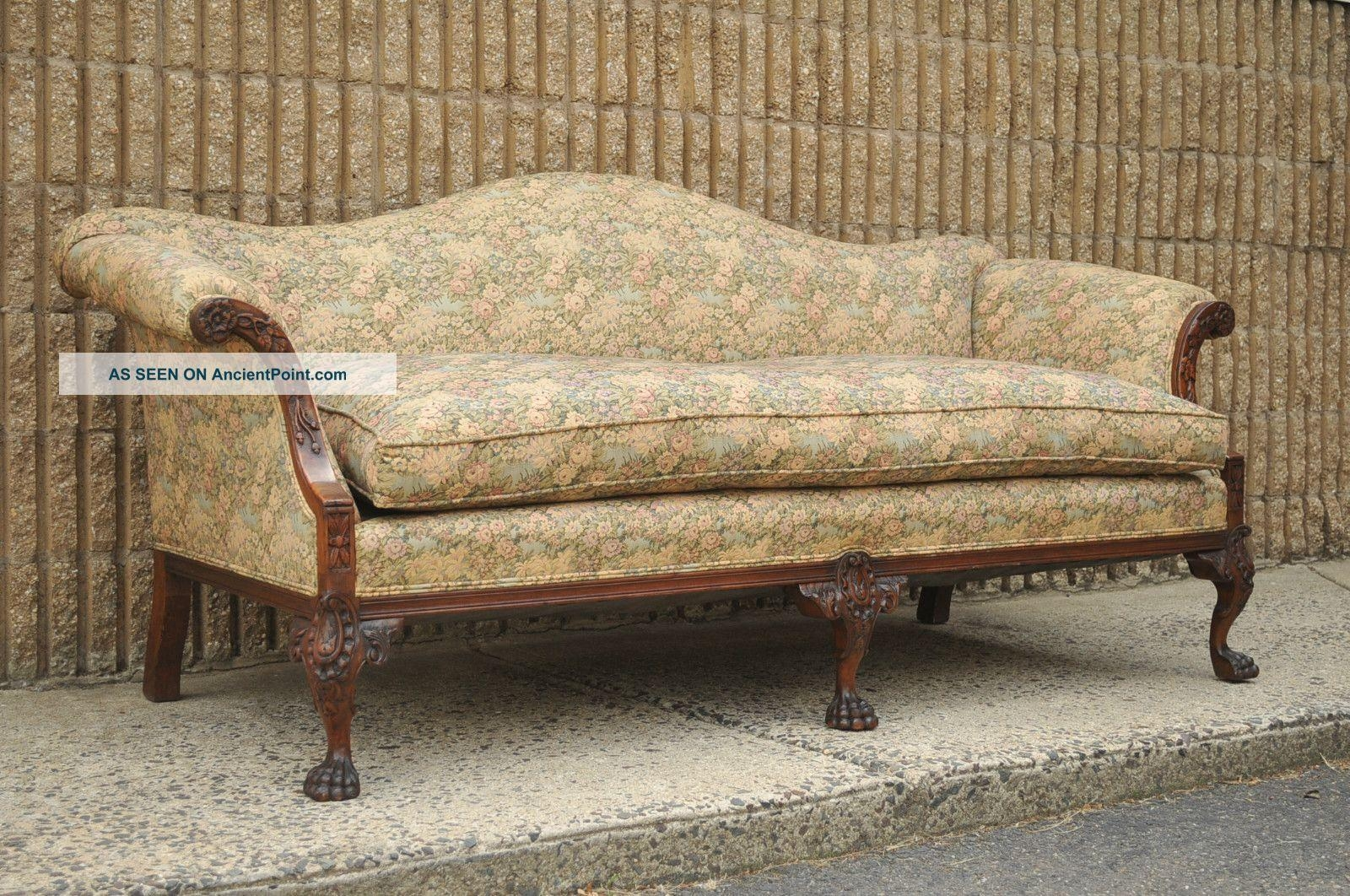Antiques Sofas Inside Vintage Sofa Styles (View 5 of 20)