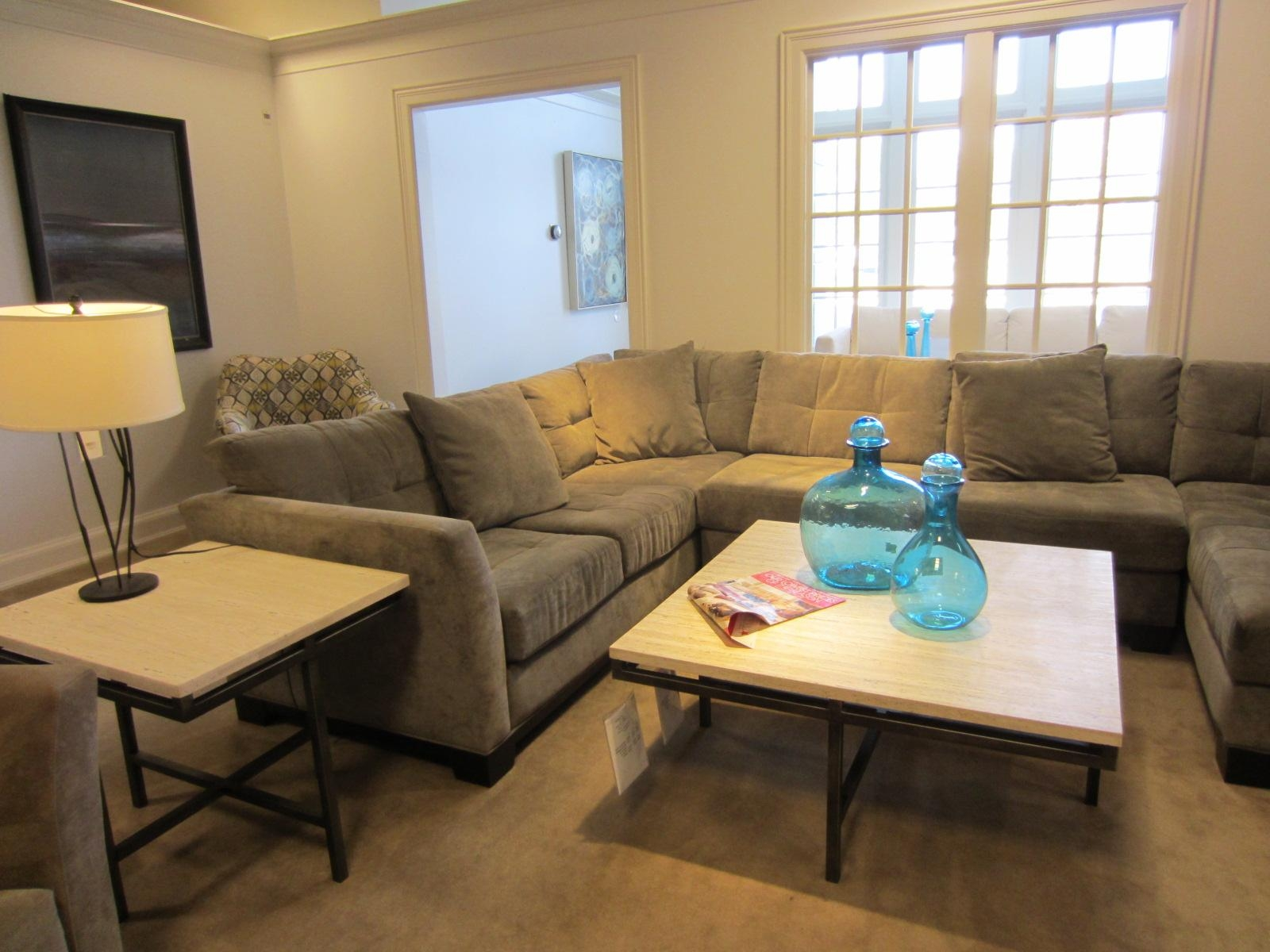 Apartment Furniture – We Found Our Couch! | The Splendid Guide | A Inside Macys Sectional (Image 3 of 20)