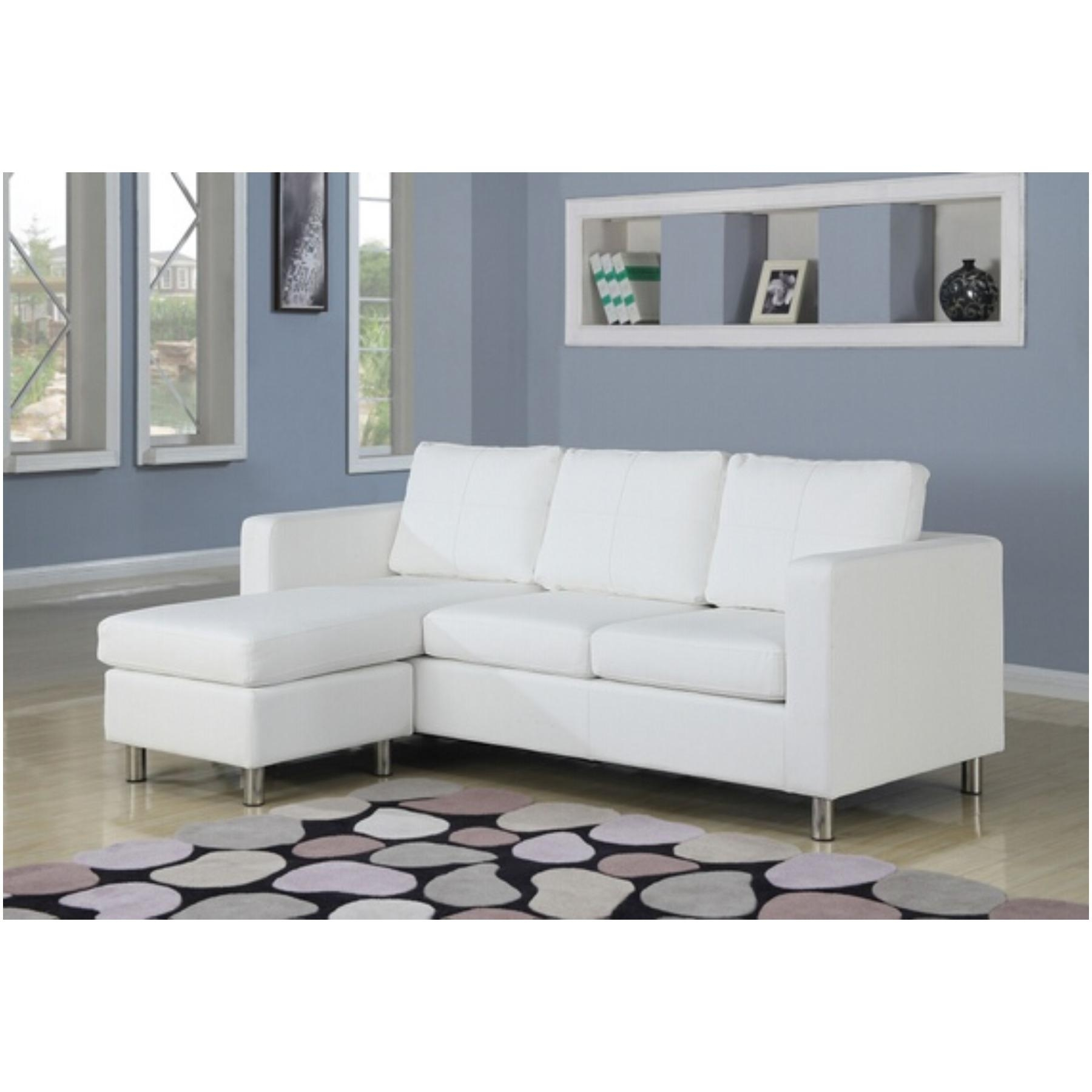 Apartment Size Sectional Inside Apartment Sectional Sofa With Chaise (View 11 of 15)