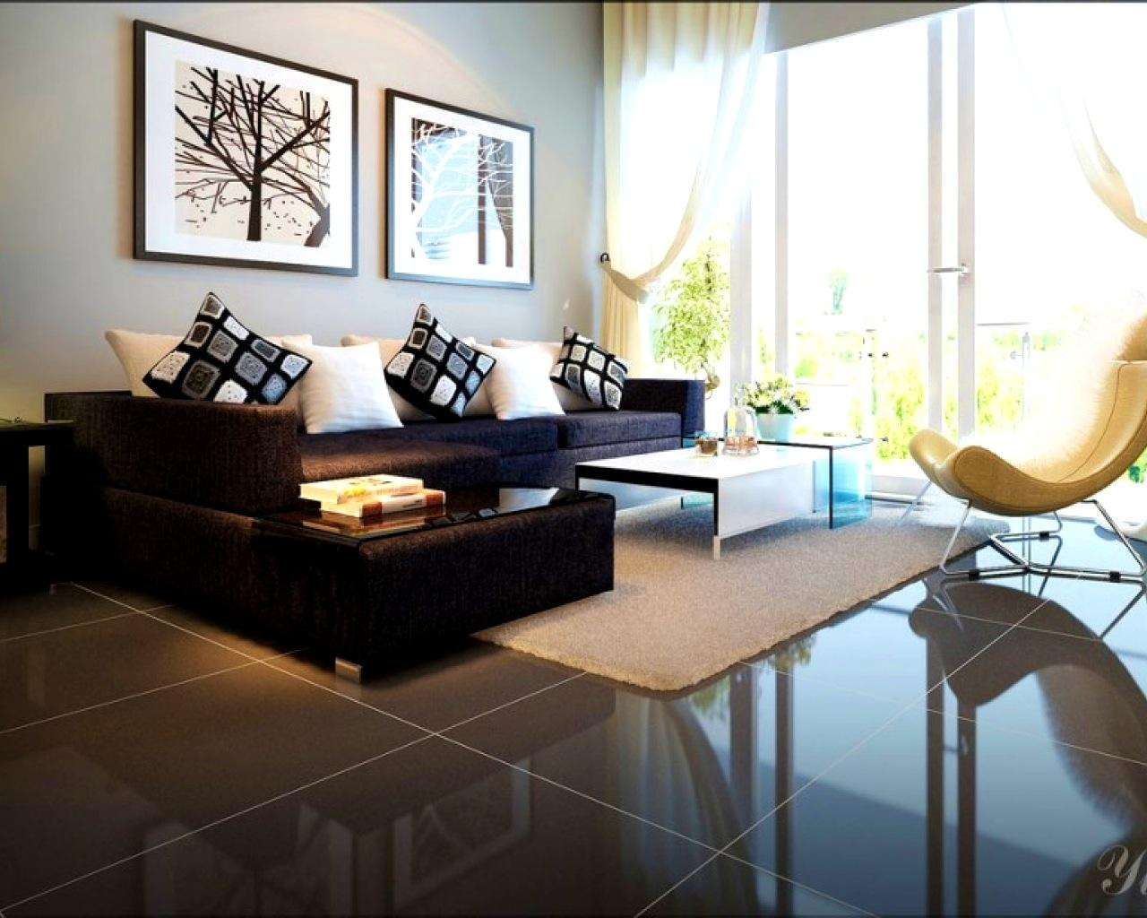Apartments : Living Room Ideas With Black Sofa Small Living Room Inside Black Sofas For Living Room (Image 3 of 20)