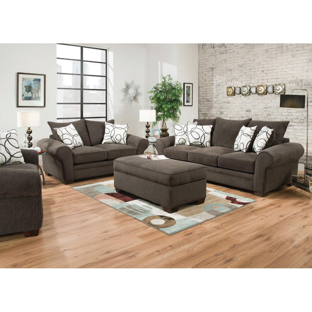 Apollo Living Room – Sofa & Loveseat (548) : Furniture With Sofa Chairs For Living Room (Image 3 of 20)