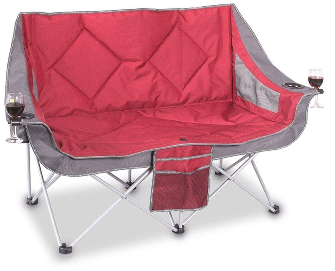 Appealing Kids Double Camping Chair 77 For Your Comfortable Desk Throughout Camping Sofas (Image 1 of 20)