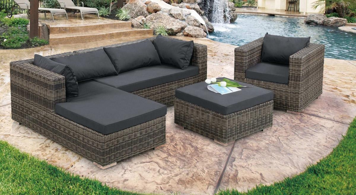 Appealing Outdoor Patio Furniture Sectional Design – Patio Pertaining To Cheap Outdoor Sectionals (Image 1 of 15)
