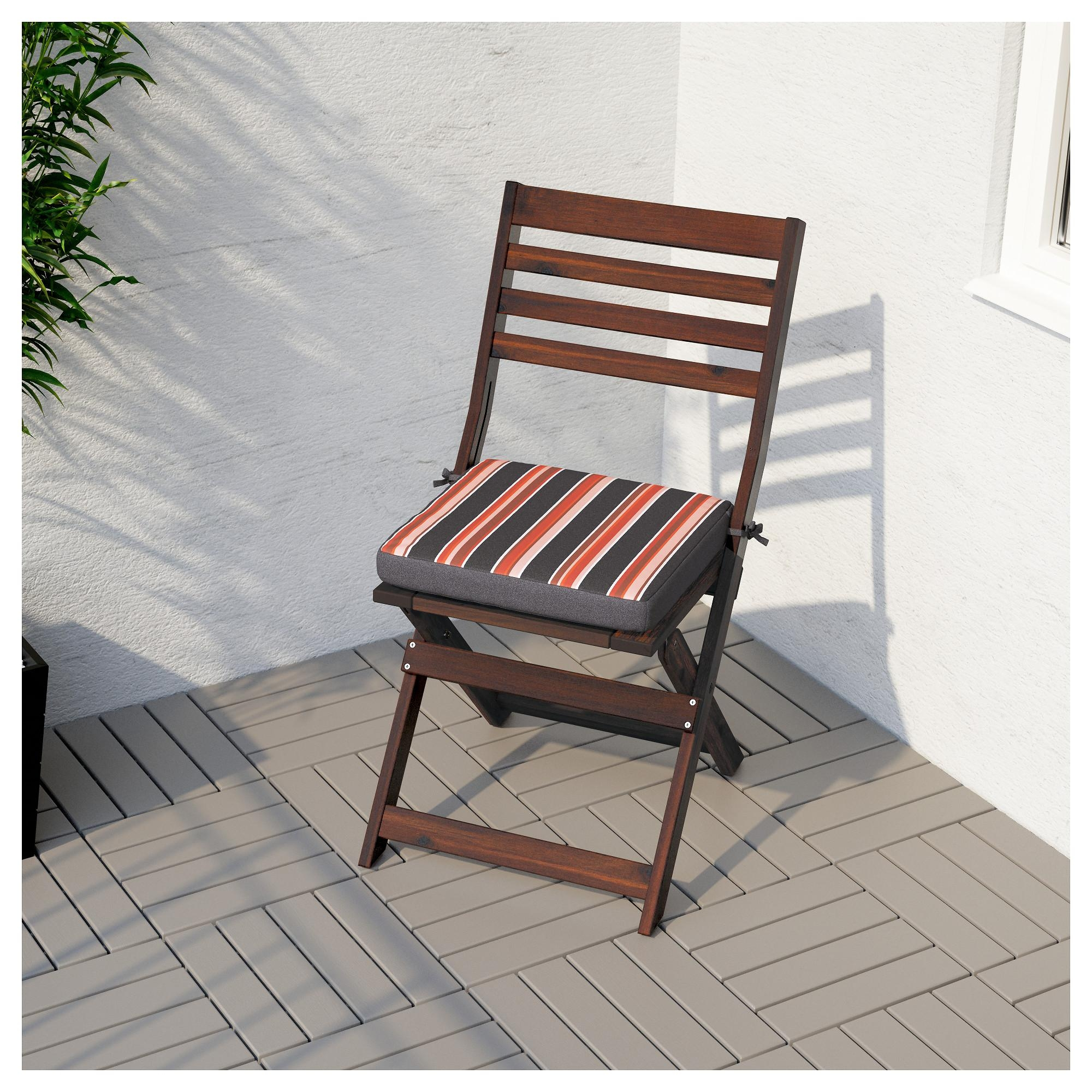 Äpplarö Chair, Outdoor – Ikea Within Fold Up Sofa Chairs (View 15 of 22)