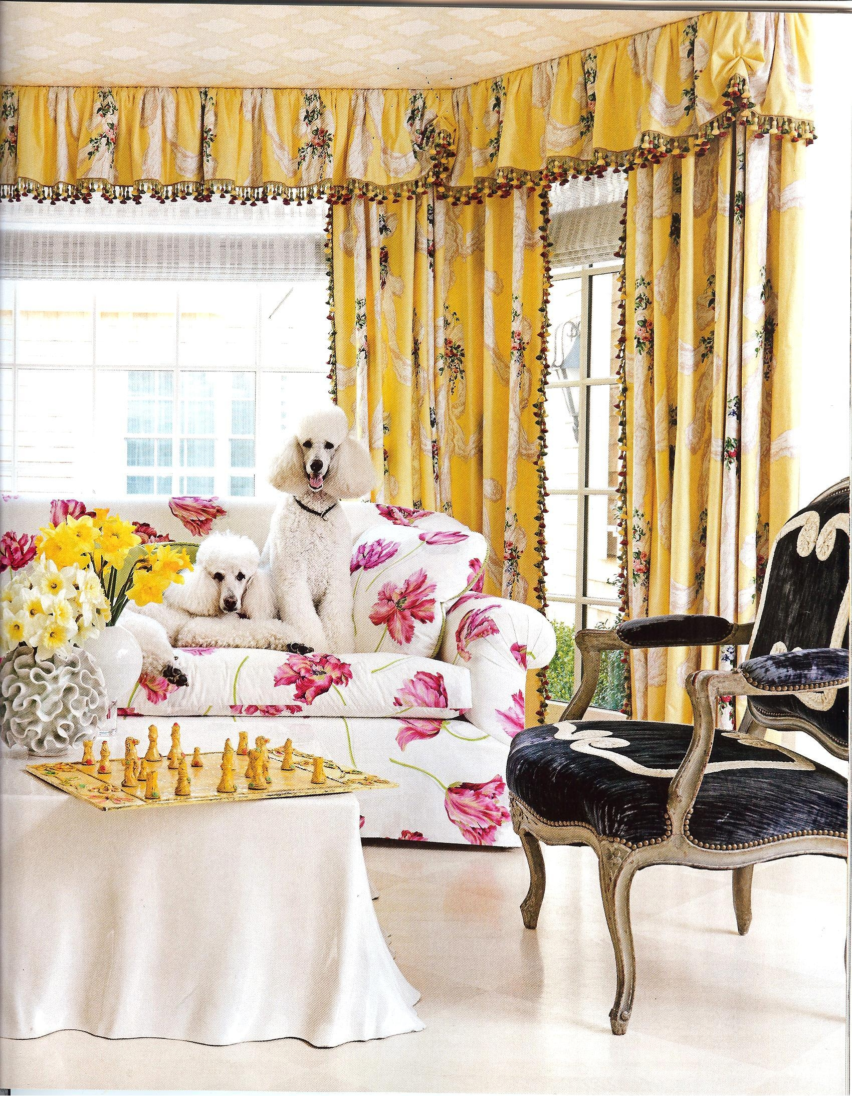 Are Those Chintz Fabrics That I See In House Beautiful Feb 2013 In Chintz Fabric Sofas (Image 6 of 20)