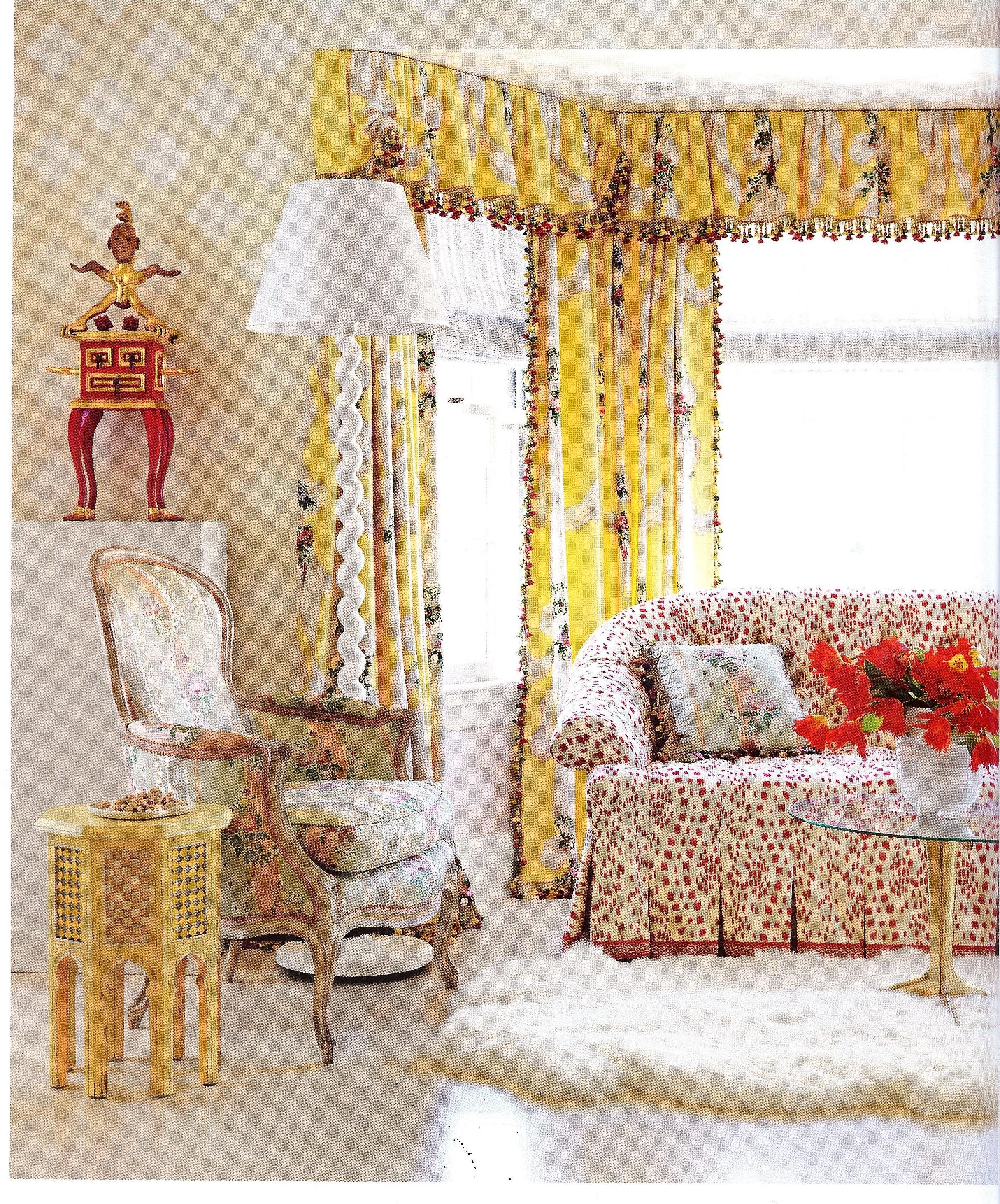 Are Those Chintz Fabrics That I See In House Beautiful Feb 2013 Pertaining To Chintz Fabric Sofas (Image 7 of 20)