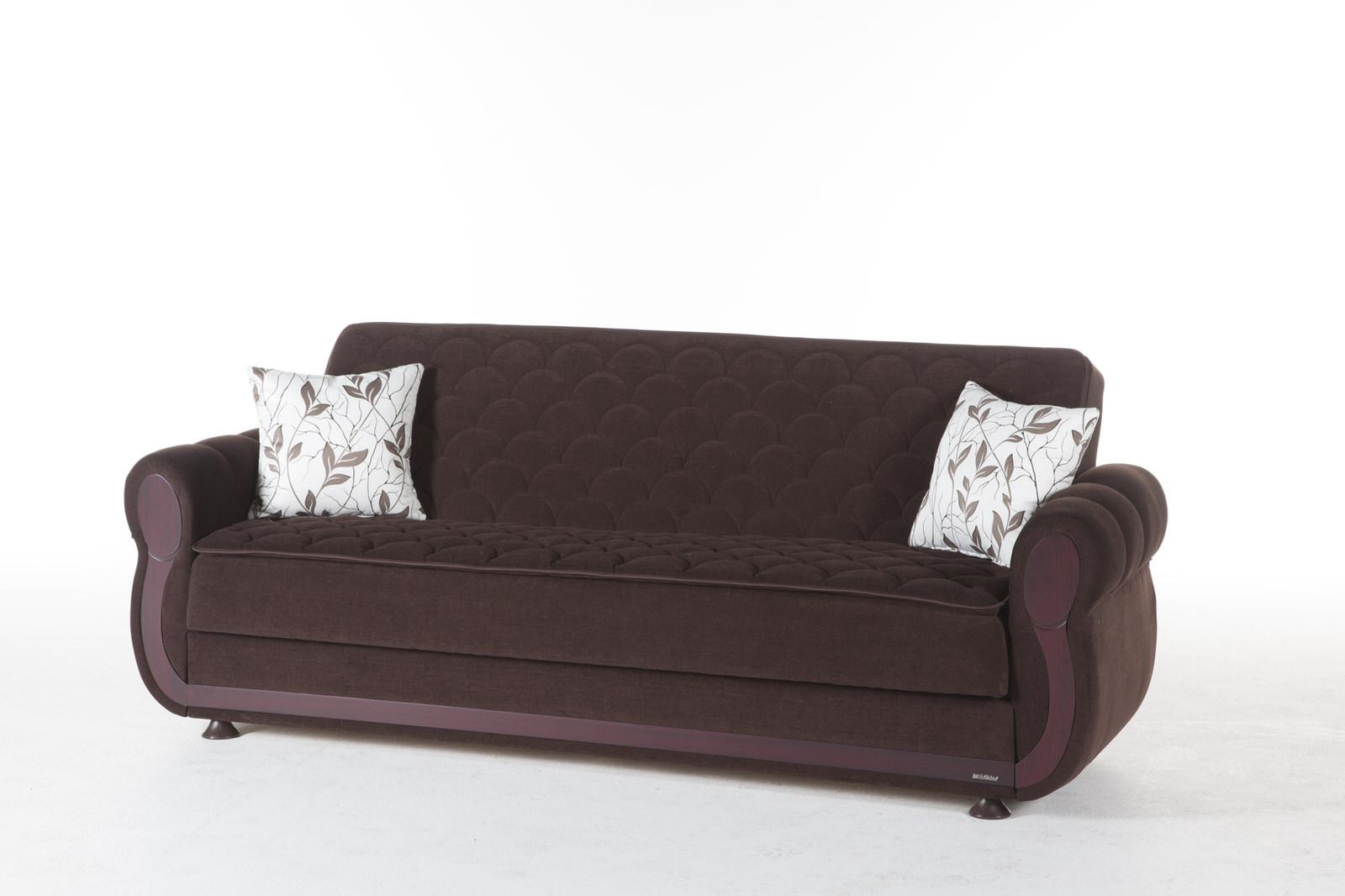 Argos Colins Brown Convertible Sofa Bedsunset In Convertible Sofa Chair Bed (Image 1 of 20)