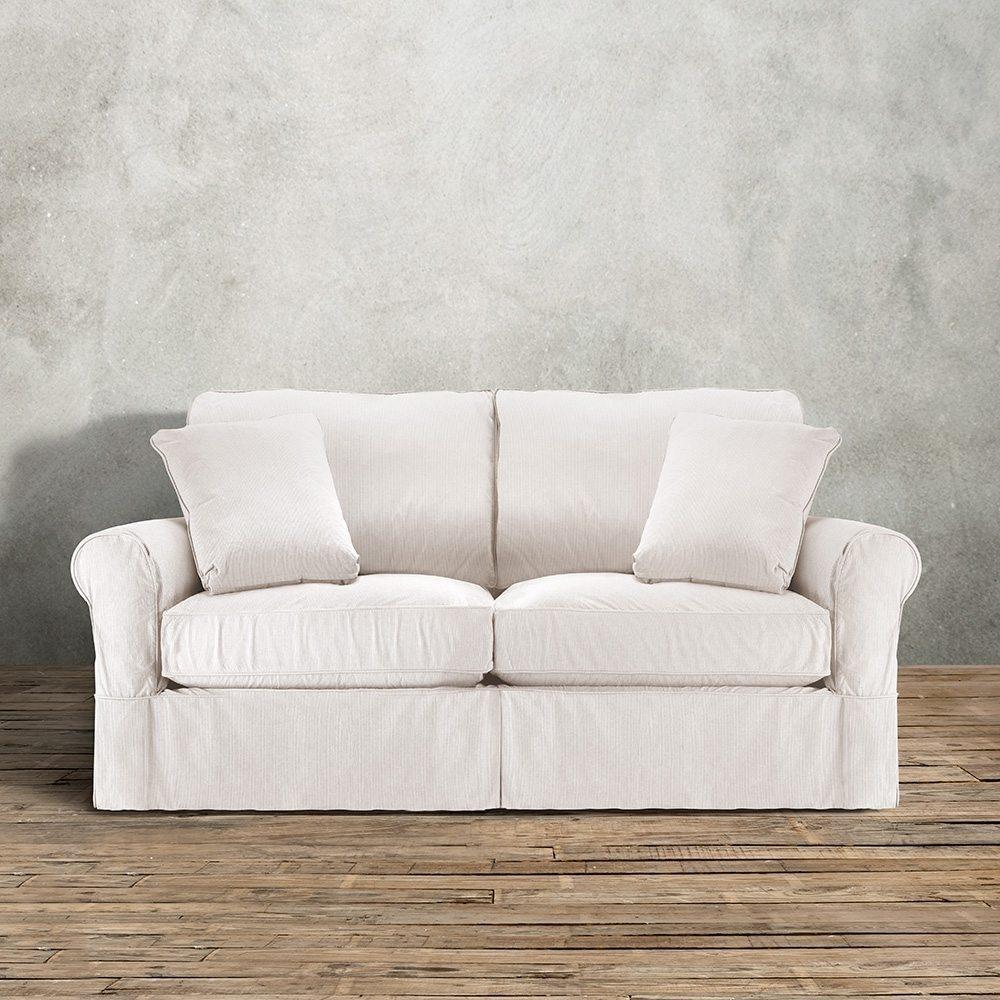 Arhaus Leather Sofa | Sofa Gallery | Kengire Throughout Arhaus Slipcovers (Image 5 of 20)