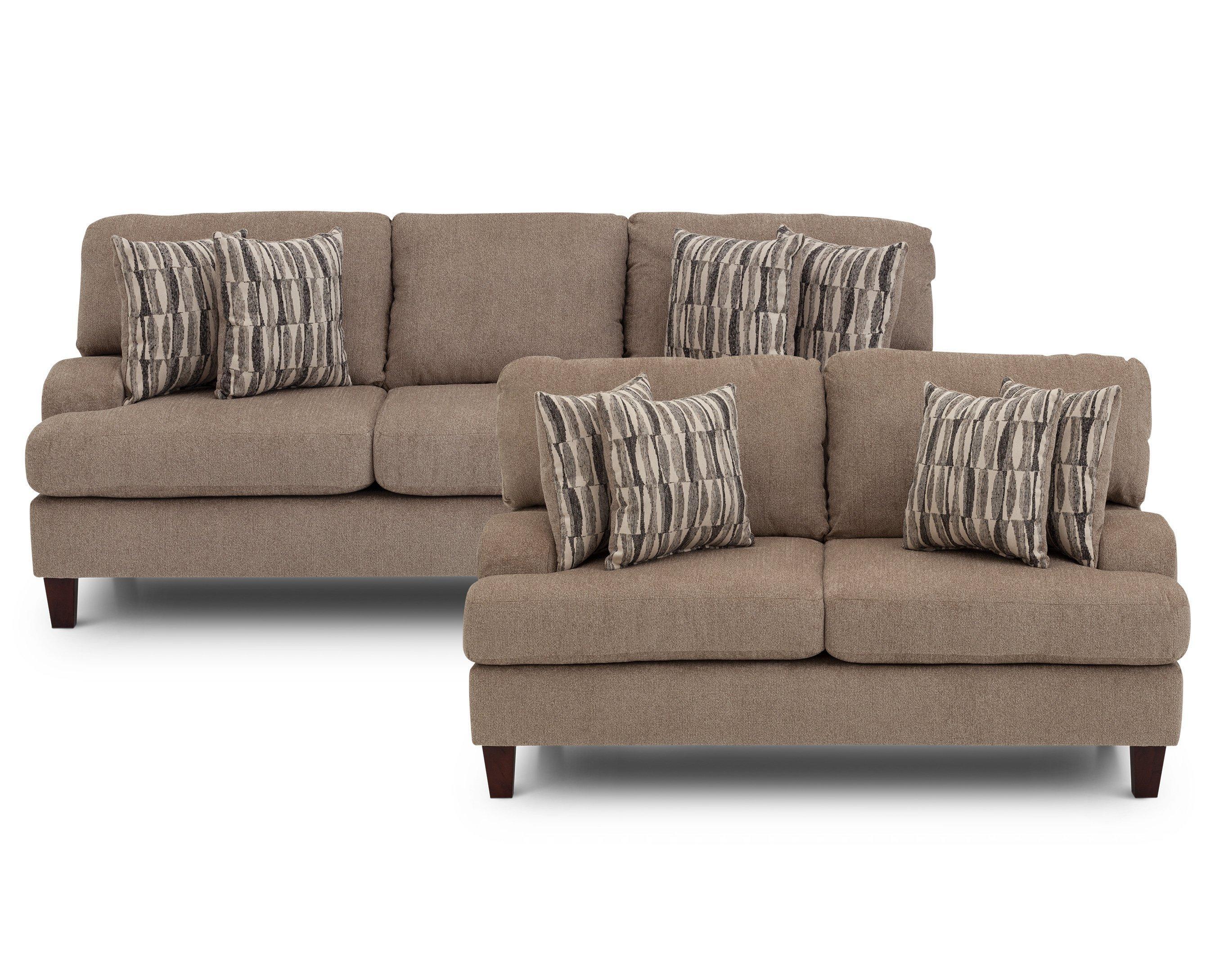 Aries Sofa – Furniture Row Regarding Sofa Mart Chairs (Image 8 of 20)
