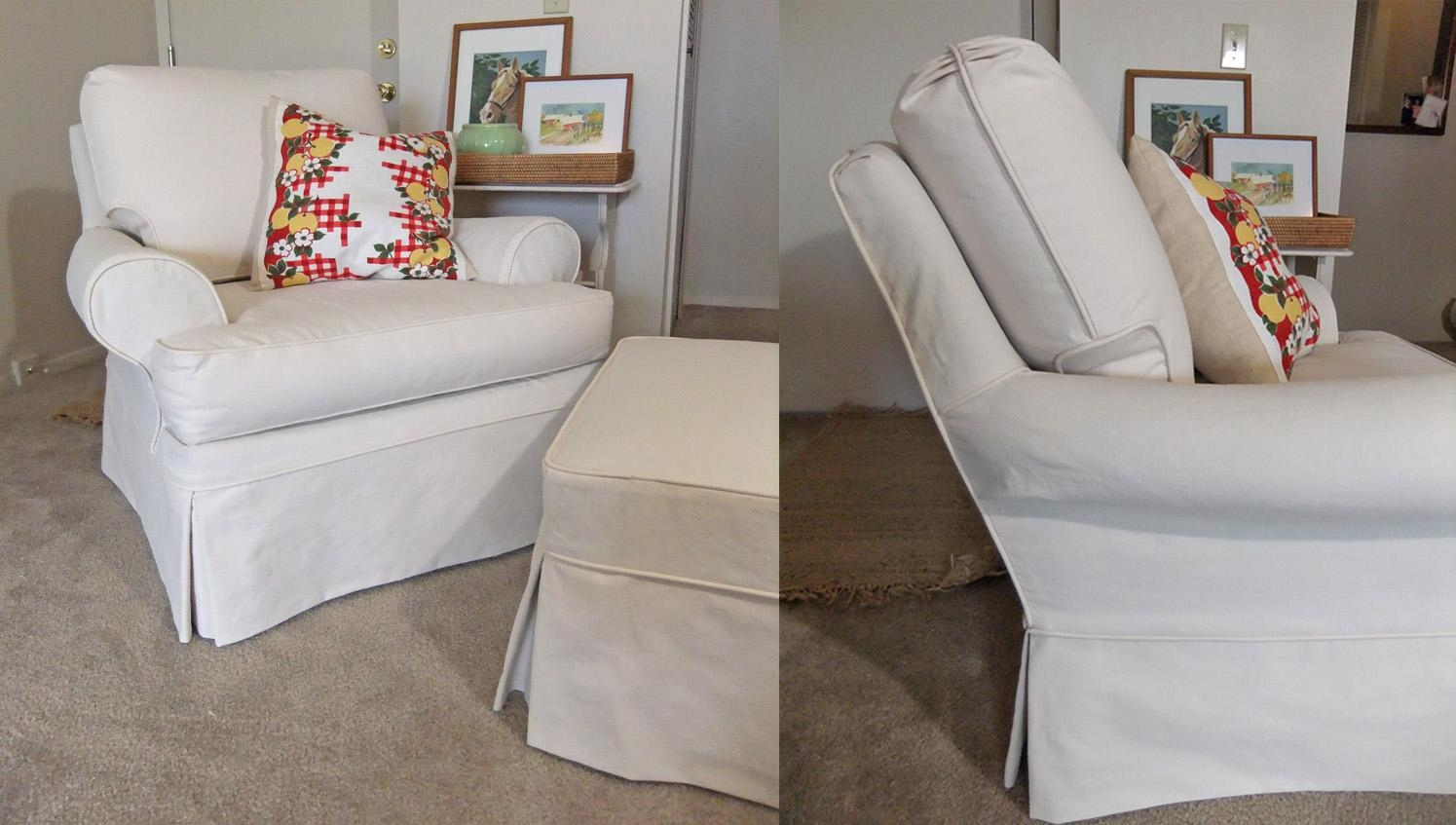 Armchair Slipcovers (Image 2 of 20)