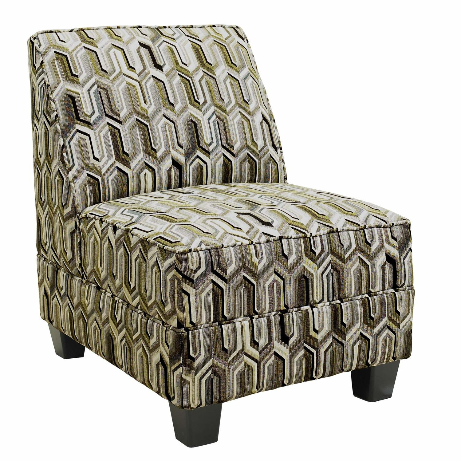 Armless Chair Slipcover.armless Accent Chair Slipcover (Image 2 of 20)