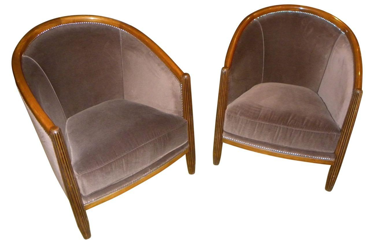 Art Deco Furniture For Sale | Seating Items | Art Deco Collection Pertaining To Art Deco Sofa And Chairs (Image 4 of 20)