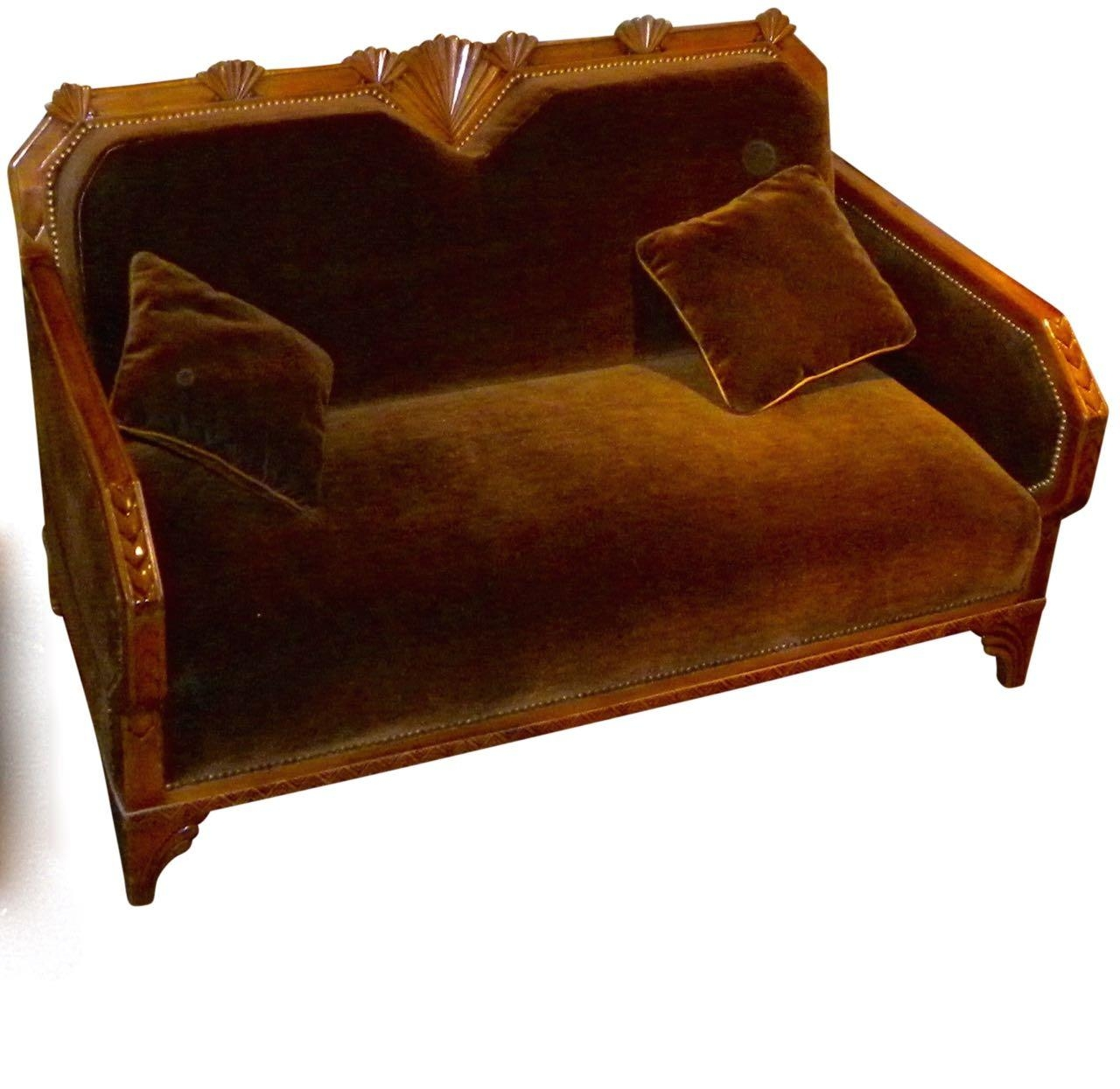 Art Deco Furniture For Sale | Seating Items | Art Deco Collection With Art Deco Sofa And Chairs (Image 6 of 20)