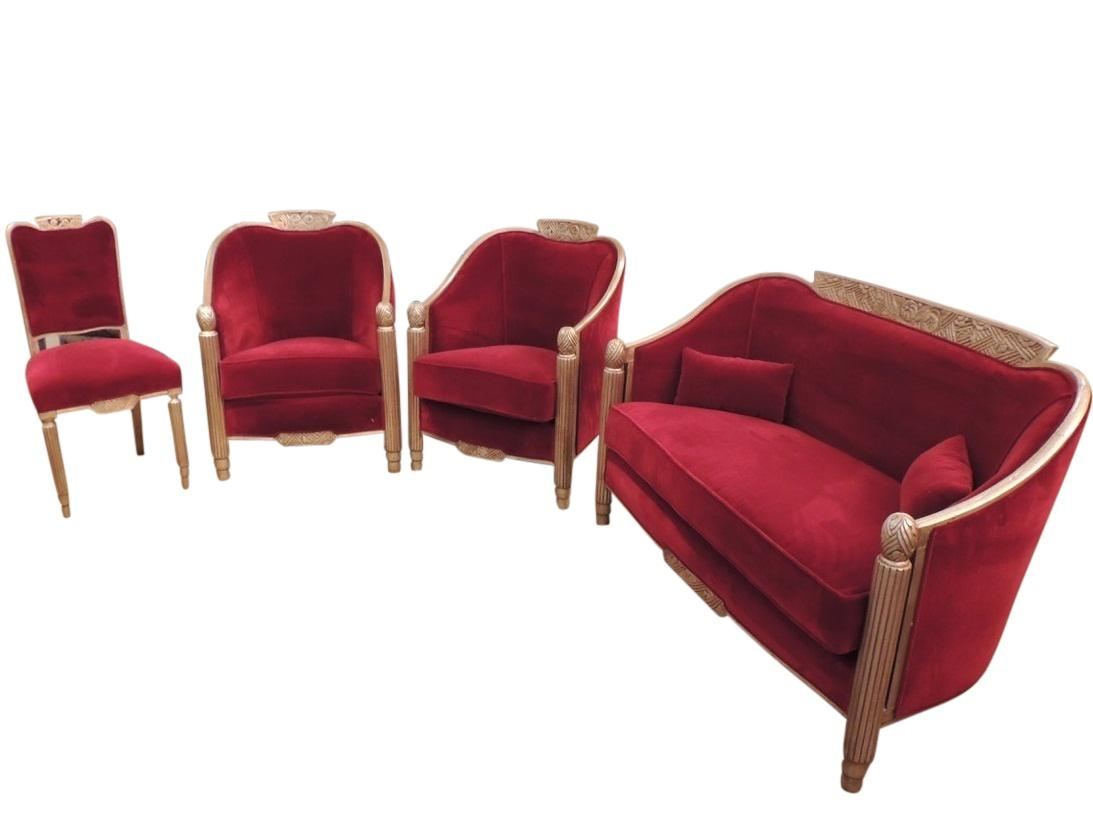 Art Deco Furniture Sold | Seating Items | Art Deco Collection For Art Deco Sofa And Chairs (Image 8 of 20)