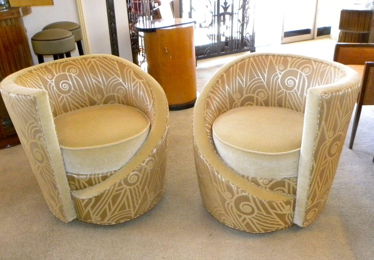 Art Deco Furniture Style With Art Deco Sofa And Chairs (View 8 of 20)