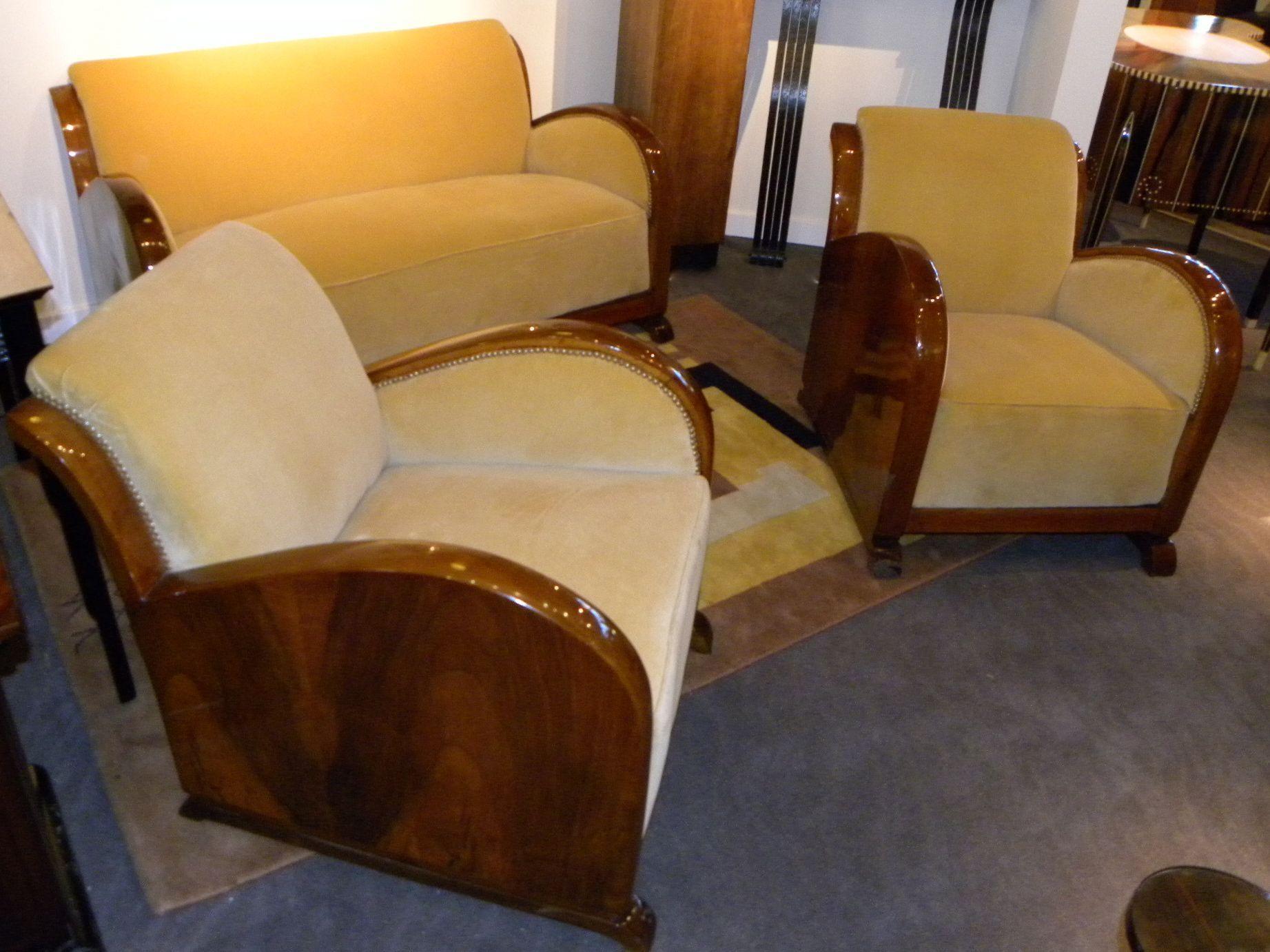 Art Deco Sofa (Image 14 of 20)