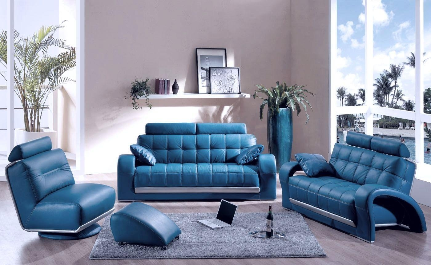Articles With Teal Blue Living Room Chair Tag: Teal Living Room With Regard To Blue Sofa Chairs (Image 3 of 20)