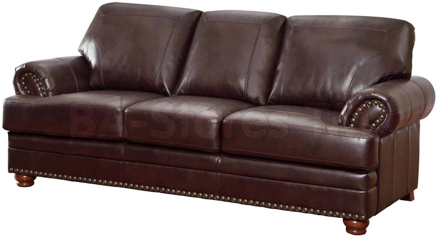 Ashley Franden Durablend Gorgeous Bonded Leather Sofa – Home Intended For Bonded Leather Sofas (Image 2 of 20)