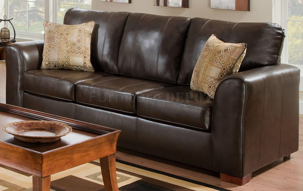 Ashley Franden Durablend Gorgeous Bonded Leather Sofa – Home With Regard To Bonded Leather Sofas (Image 4 of 20)