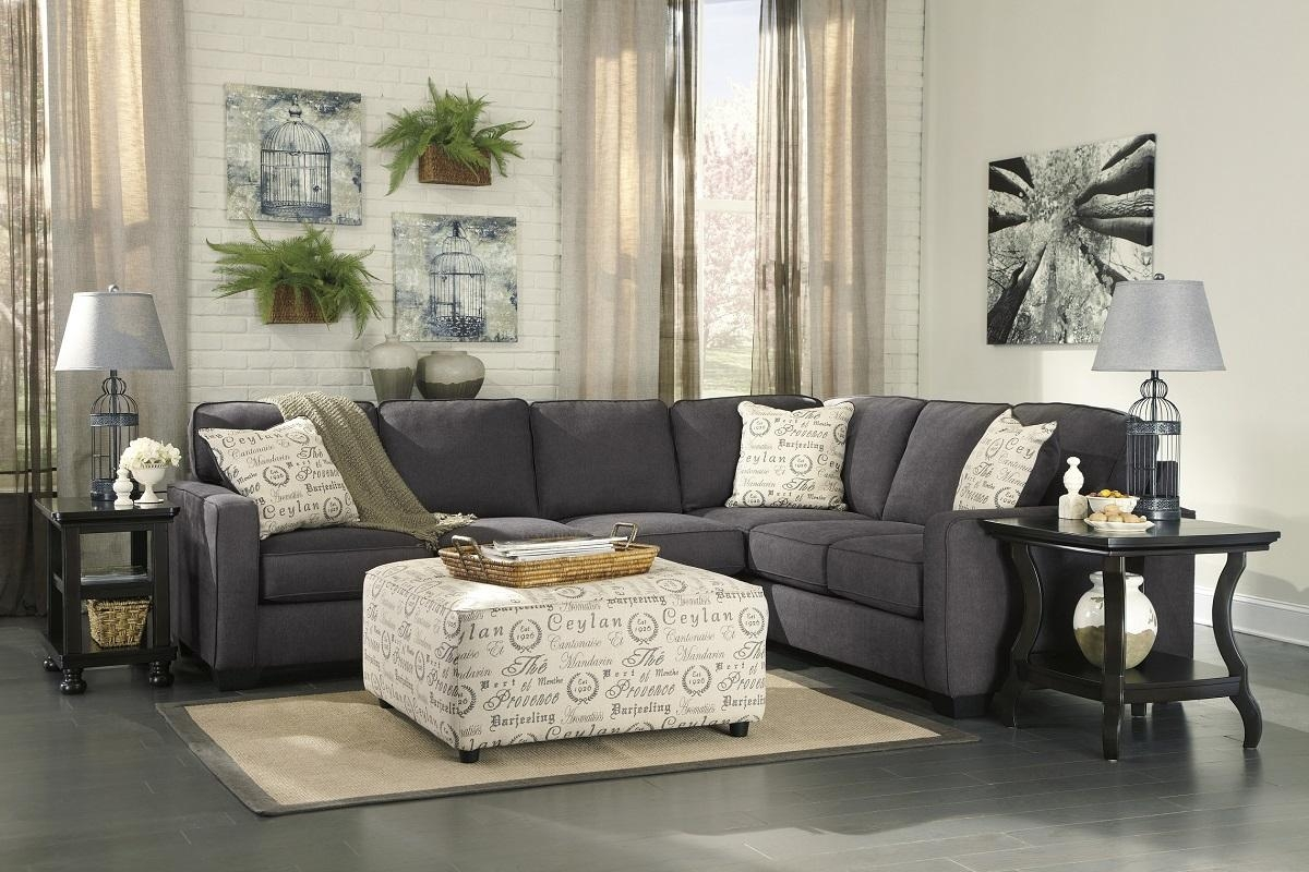 Ashley Furniture Alenya Sectional 16601 Grey Track Arm Sofa San With Sectional Sofa San Diego (Image 1 of 20)