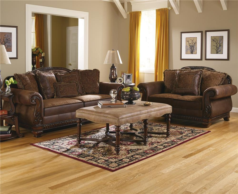 Ashley Furniture Bradington – Truffle Truffle Sofa – Ahfa – Sofa Inside Bradington Truffle (View 7 of 20)