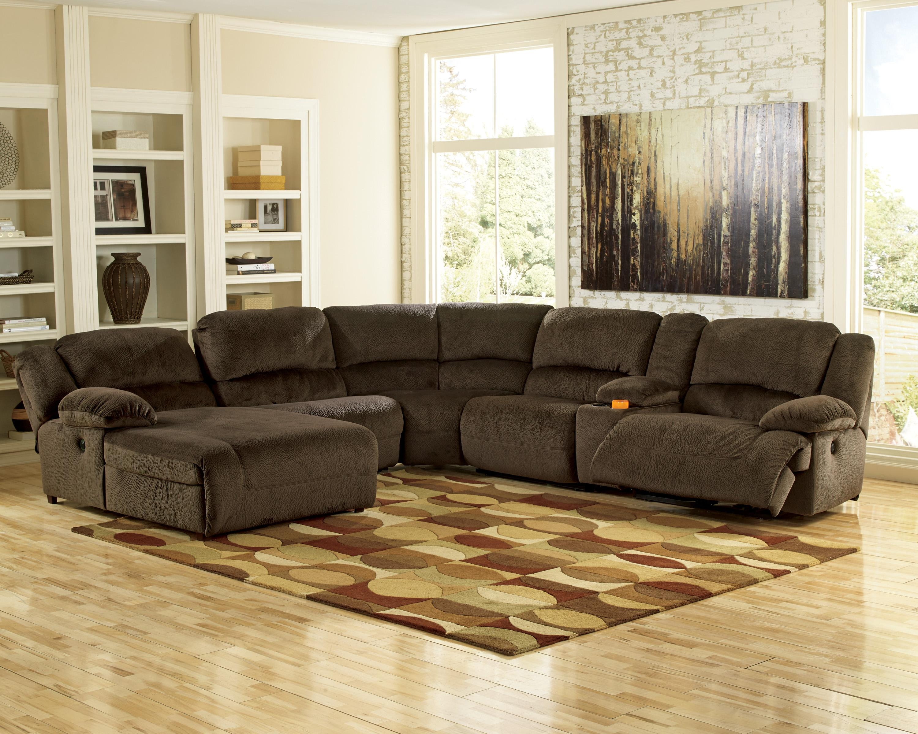 Ashley Furniture Sectional Couches (Image 3 of 20)