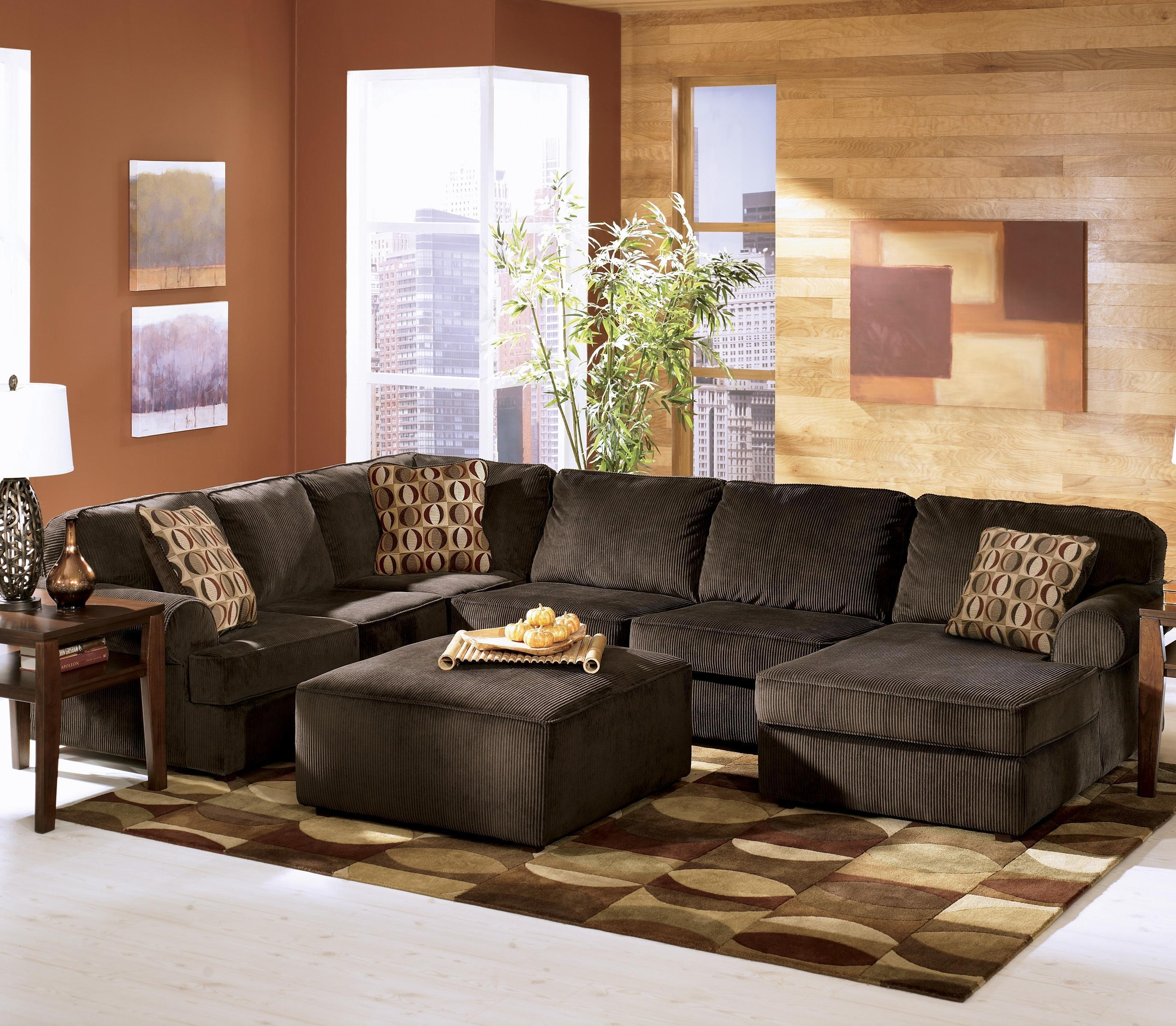 Featured Photo of Ashley Corduroy Sectional Sofas