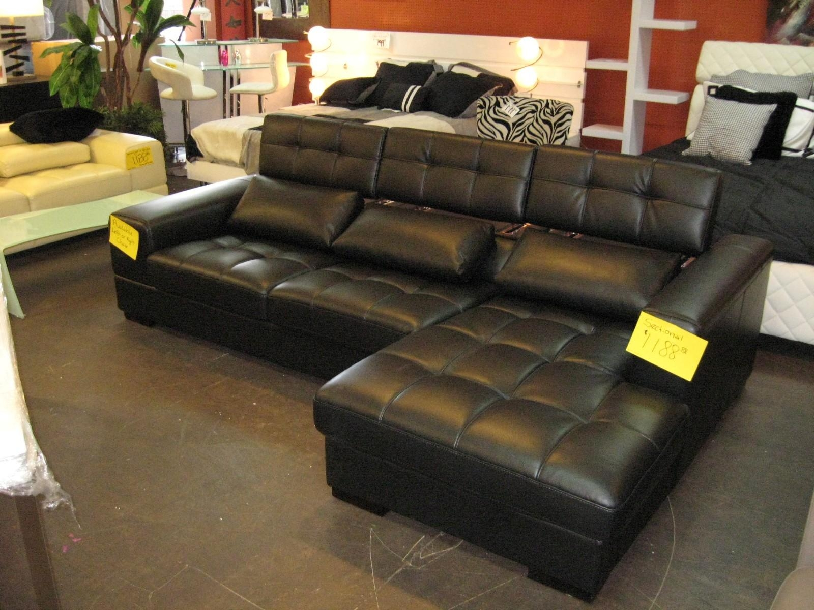 Ashley Leather Living Room Furniture – Creditrestore Intended For Ashley Furniture Leather Sectional Sofas (Image 5 of 20)