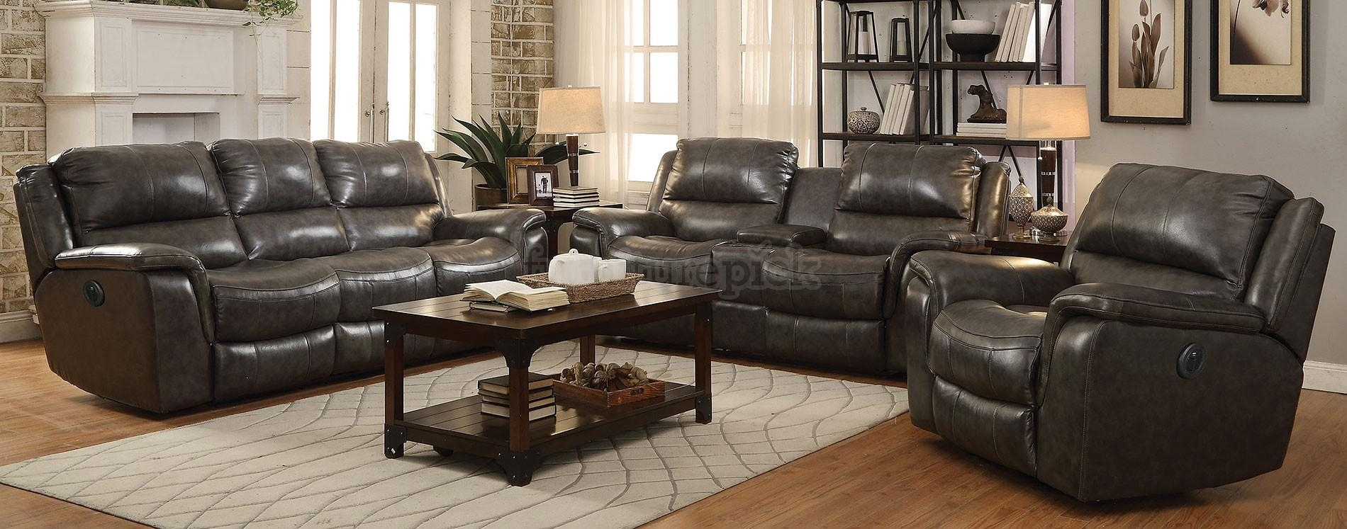 Ashley Living Room Set – Creditrestore Regarding Bradington Truffle (Image 5 of 20)