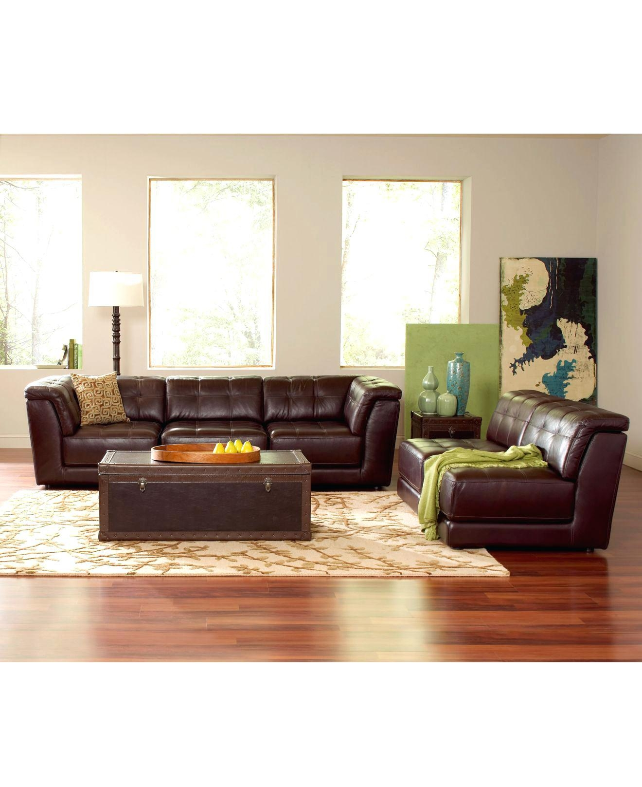 Ashley Sectional Leather Hercules Imagination Black 7 Piece In Stacey Leather Sectional (Image 1 of 20)