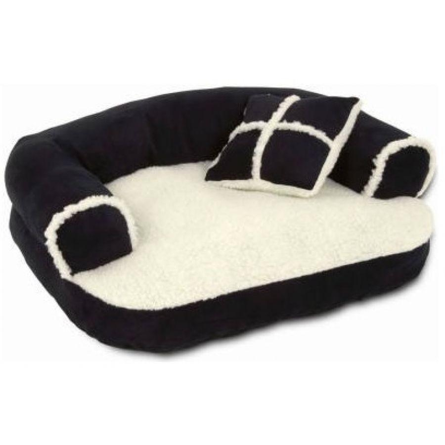 Aspen Pet Aspen Pet Sofa Bed With Bonus Pillow Dog Bolsters & Loungers Intended For Giant Sofa Beds (Image 1 of 20)