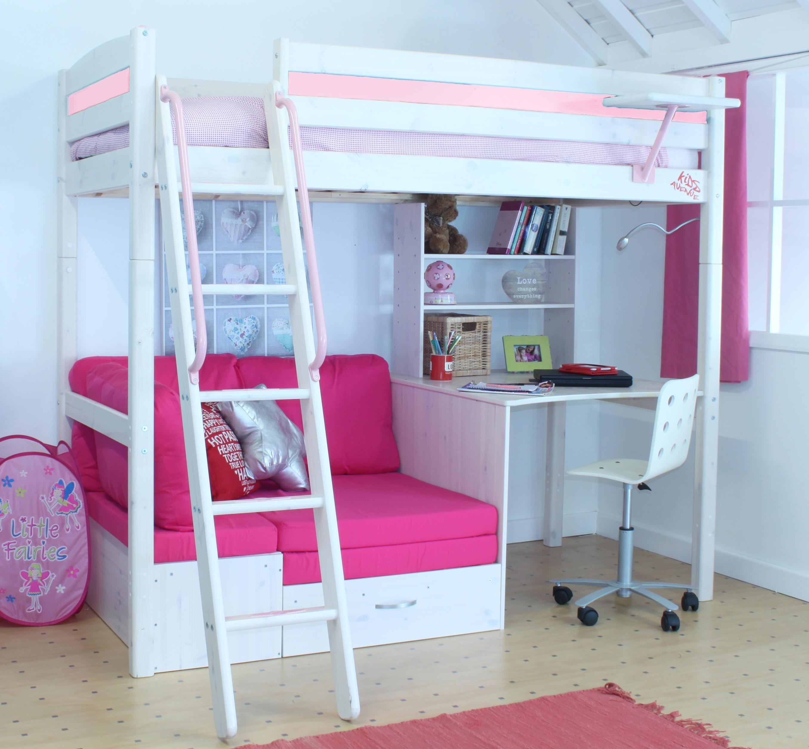 Featured Image of High Sleeper With Desk And Sofa