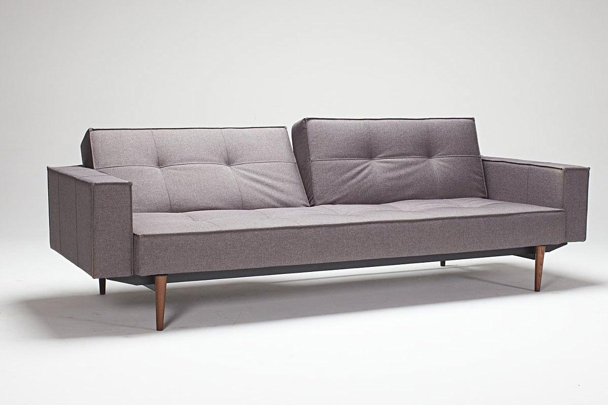 Attractive Gray Sofa Sleeper Best Home Furniture Ideas With Small Throughout Small Grey Sofas (Image 3 of 20)