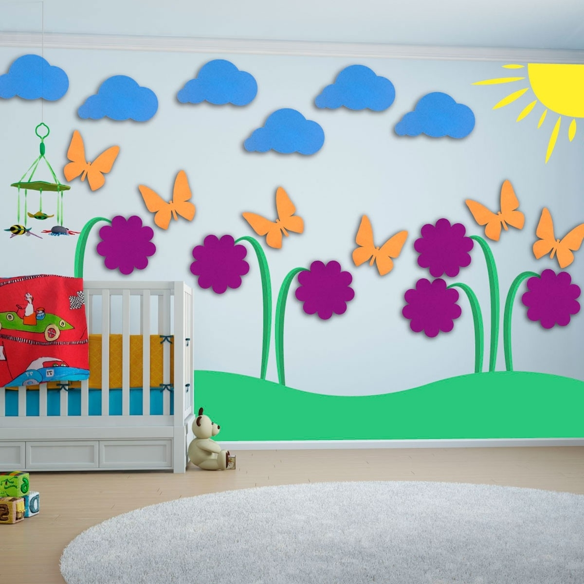 Creative kids wall art ideas custom home design Creative wall hangings