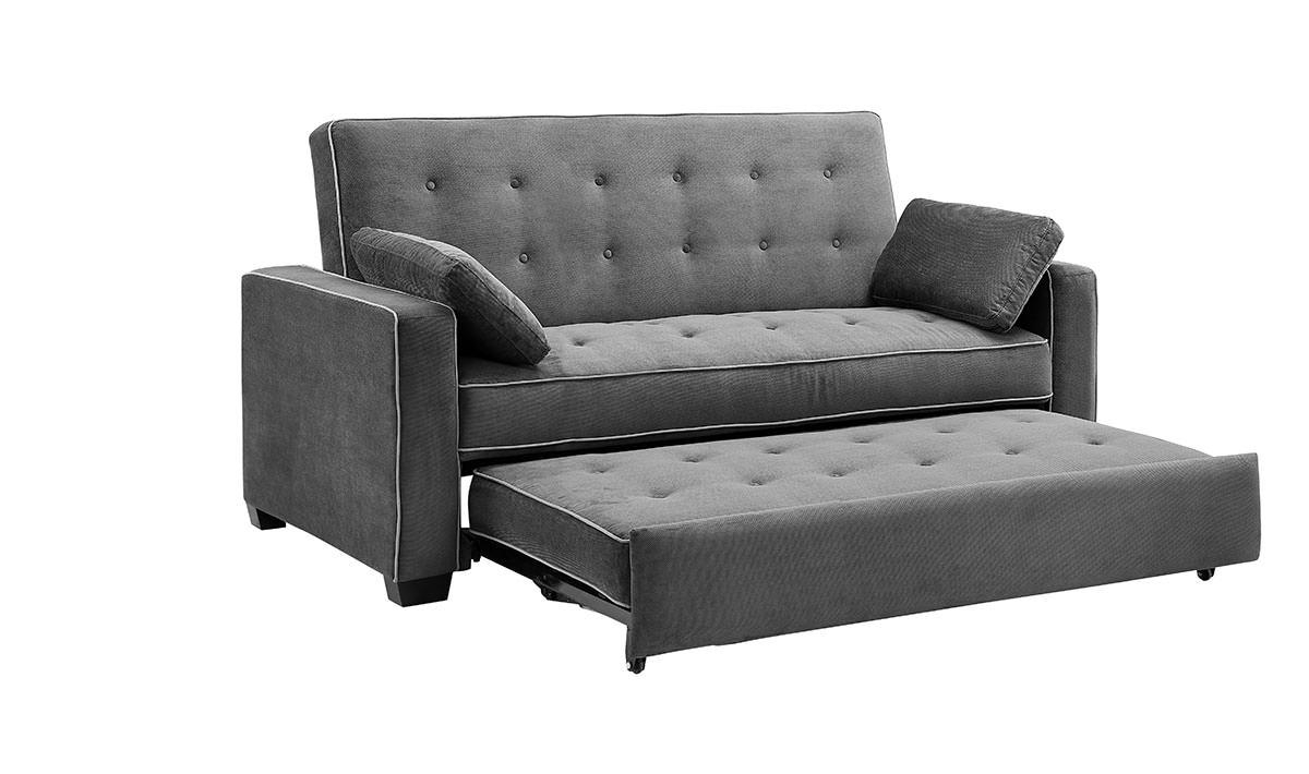Augustine Convertible Sofa Bed Moon Greyserta / Lifestyle For Convertible Queen Sofas (View 3 of 20)