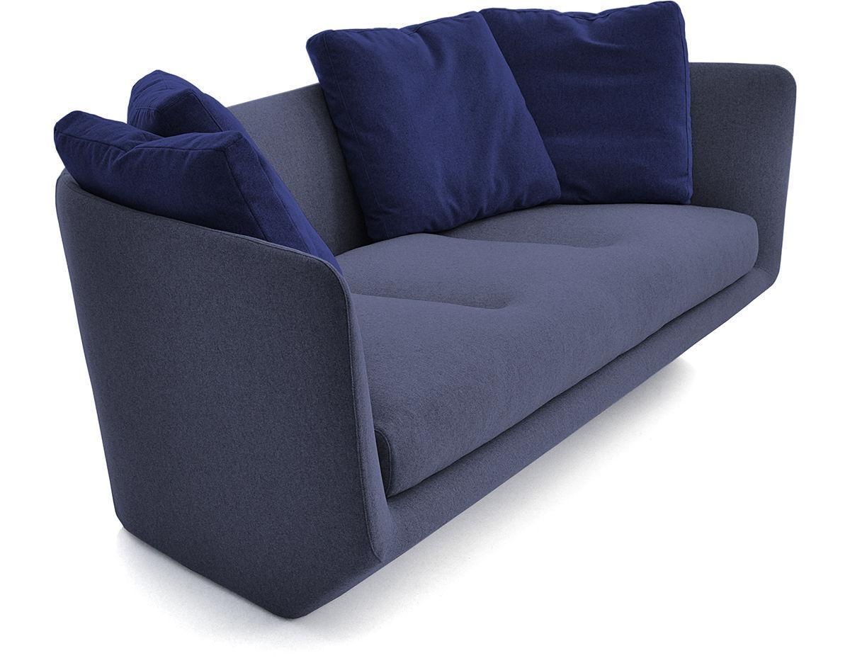 Aura 220 Three Seat Sofa – Hivemodern Within Bensen Sofas (Image 1 of 20)