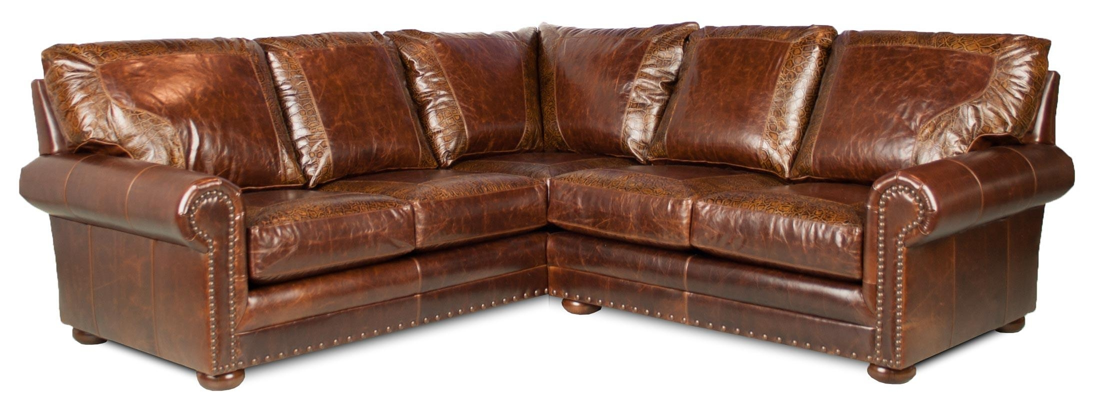 Austin – Leather Sectional | Leather Creations Furniture – Custom Intended For Austin Sectional Sofa (Image 1 of 15)