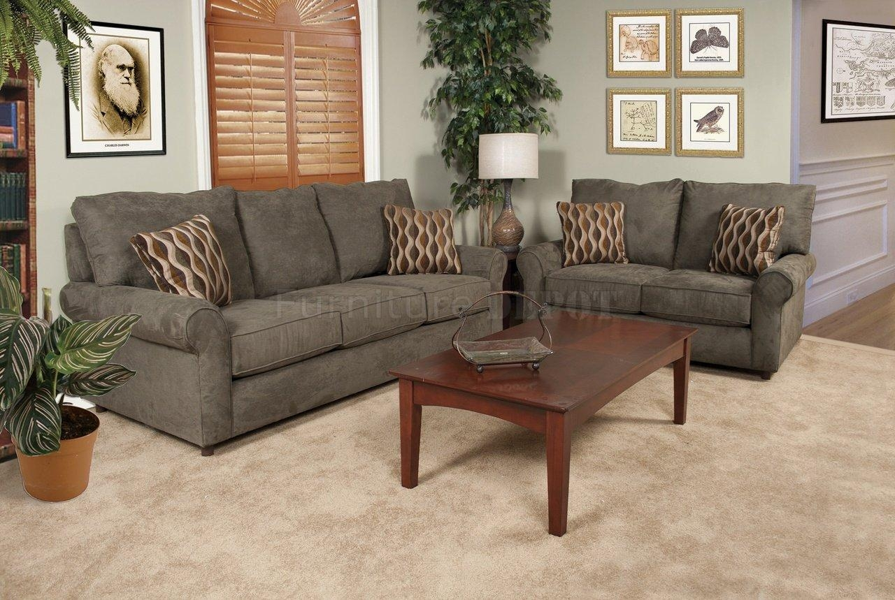 Awesome Couch And Loveseat Sets | Homesfeed With Sofa Loveseat And Chairs (View 10 of 20)