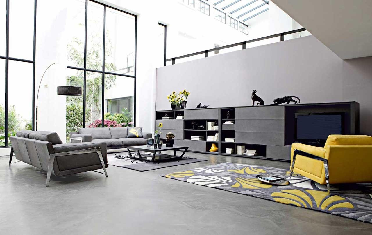 Awesome Decorating With Gray Sofa Pictures – Decorating Interior Inside Gray Sofas For Living Room (View 18 of 20)