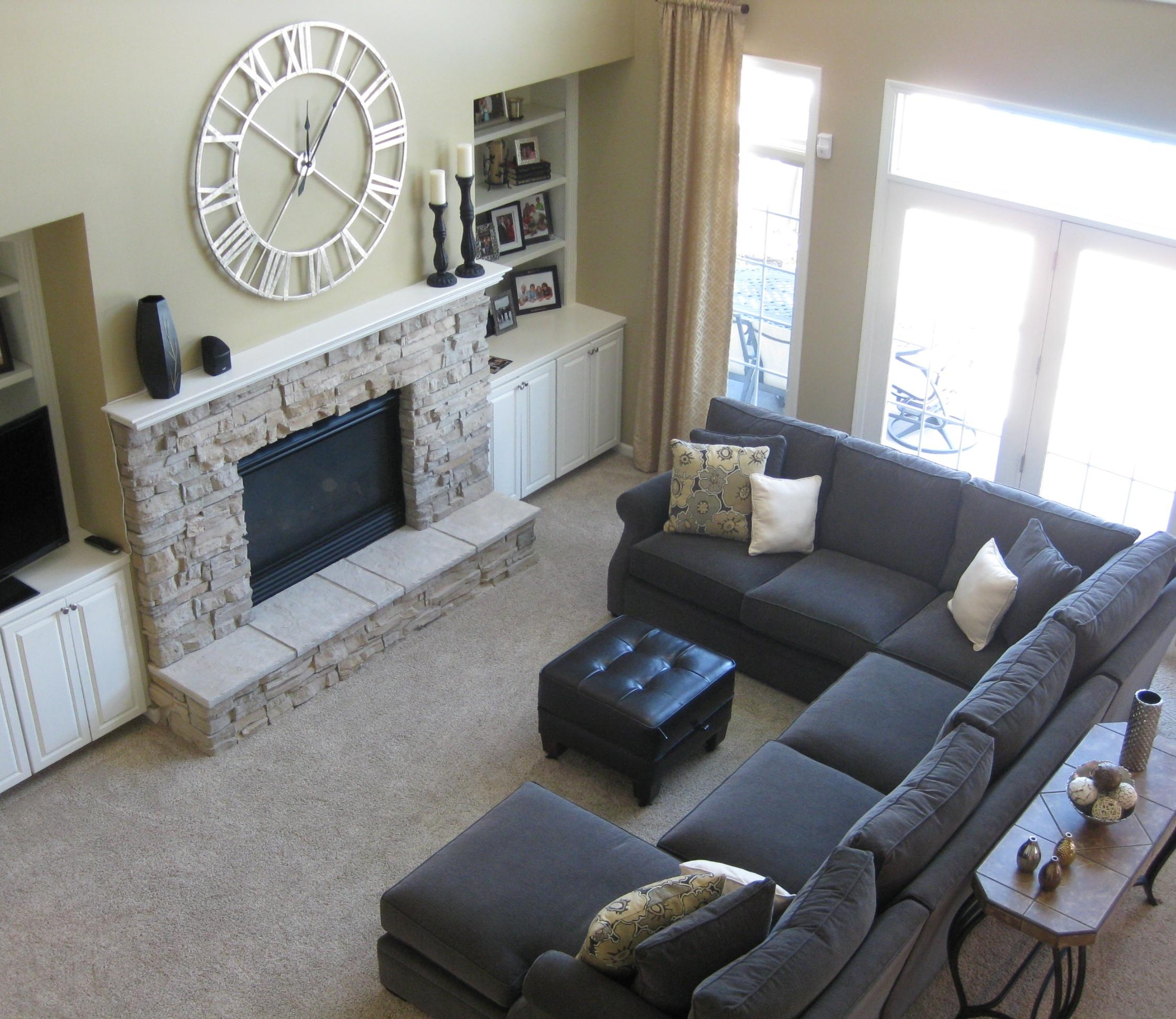Awesome Grey Couch Living Room Contemporary – Room Design Ideas For Gray Sofas For Living Room (View 5 of 20)