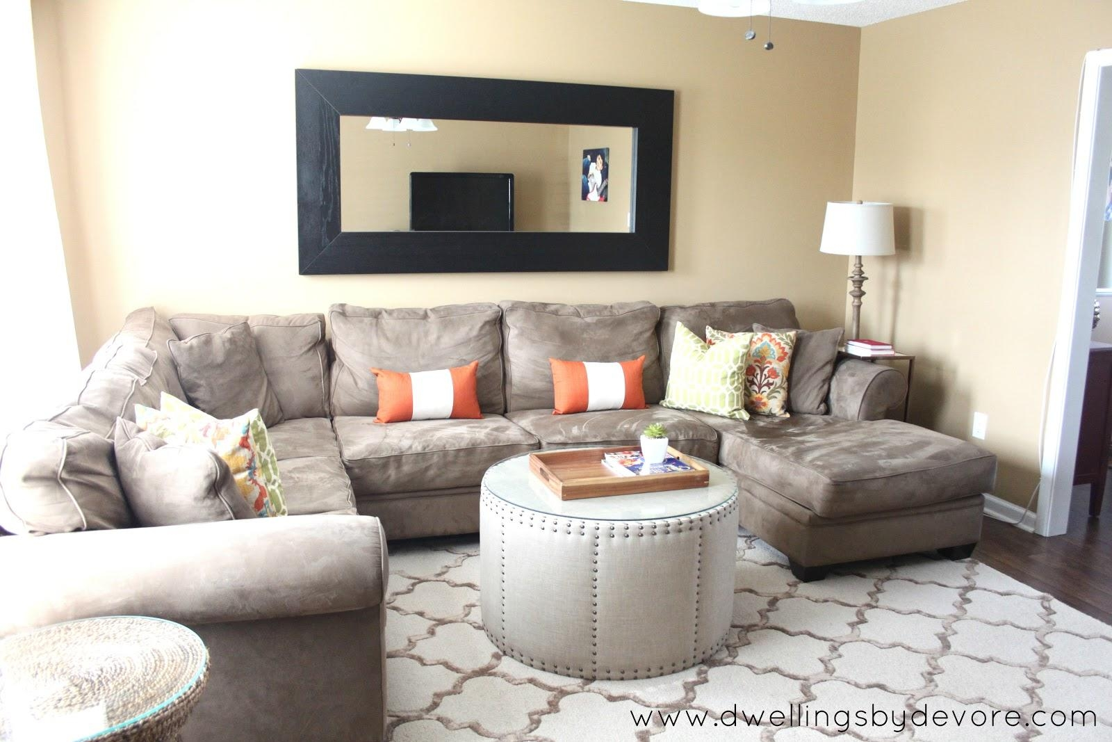 Awesome Sectional In Small Room Ideas – Designer Sectionals For For Sectional Ideas For Small Rooms (View 2 of 20)