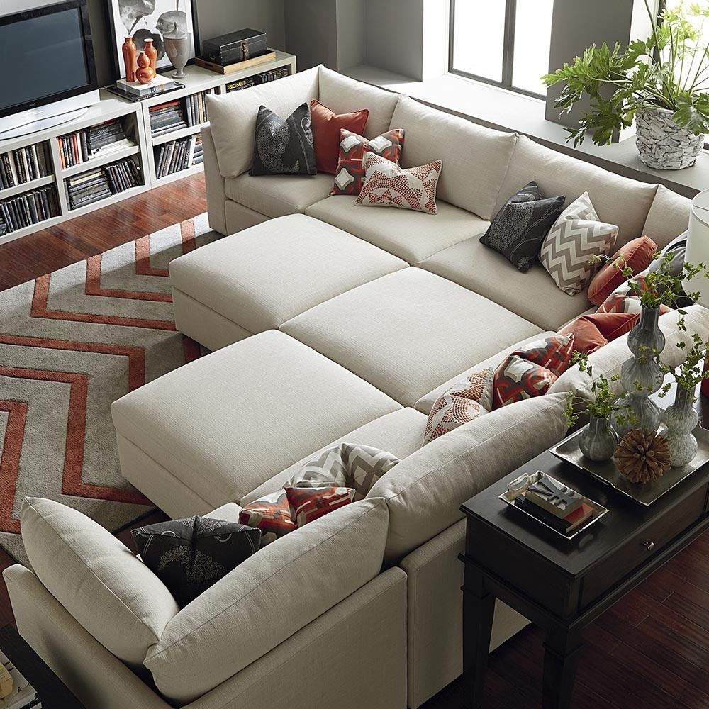 Awesome Short Sectional Sofa 65 In Floor Lamps Behind Sectional Inside Short Sectional Sofas (Image 1 of 20)