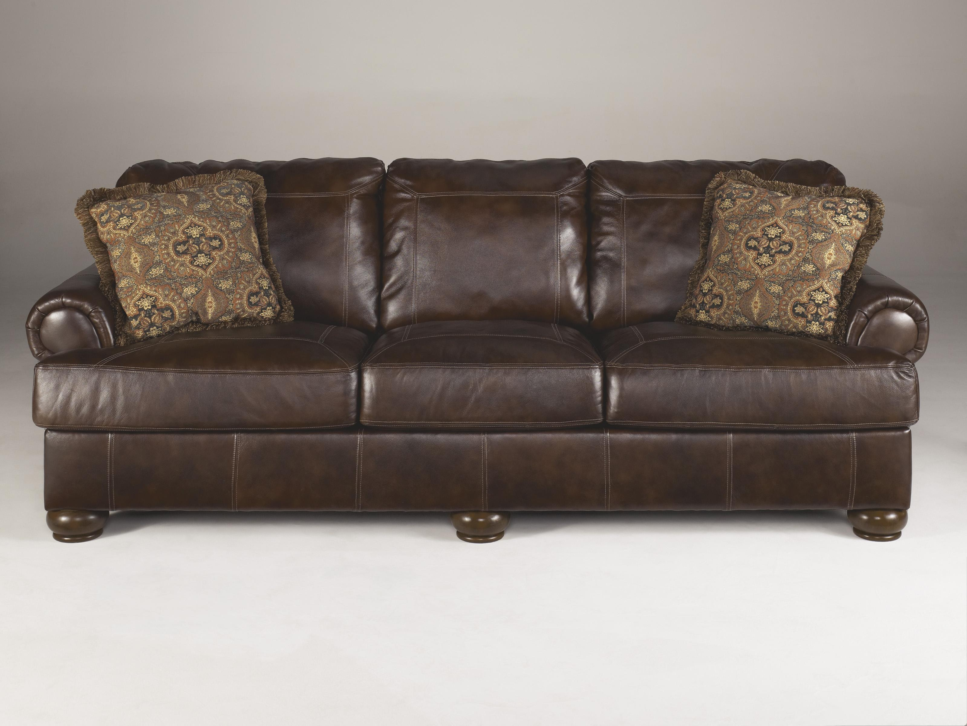 Axiom Leather Sofaashley Furniture – Texas Furniture Hut In Sealy Leather Sofas (View 13 of 20)